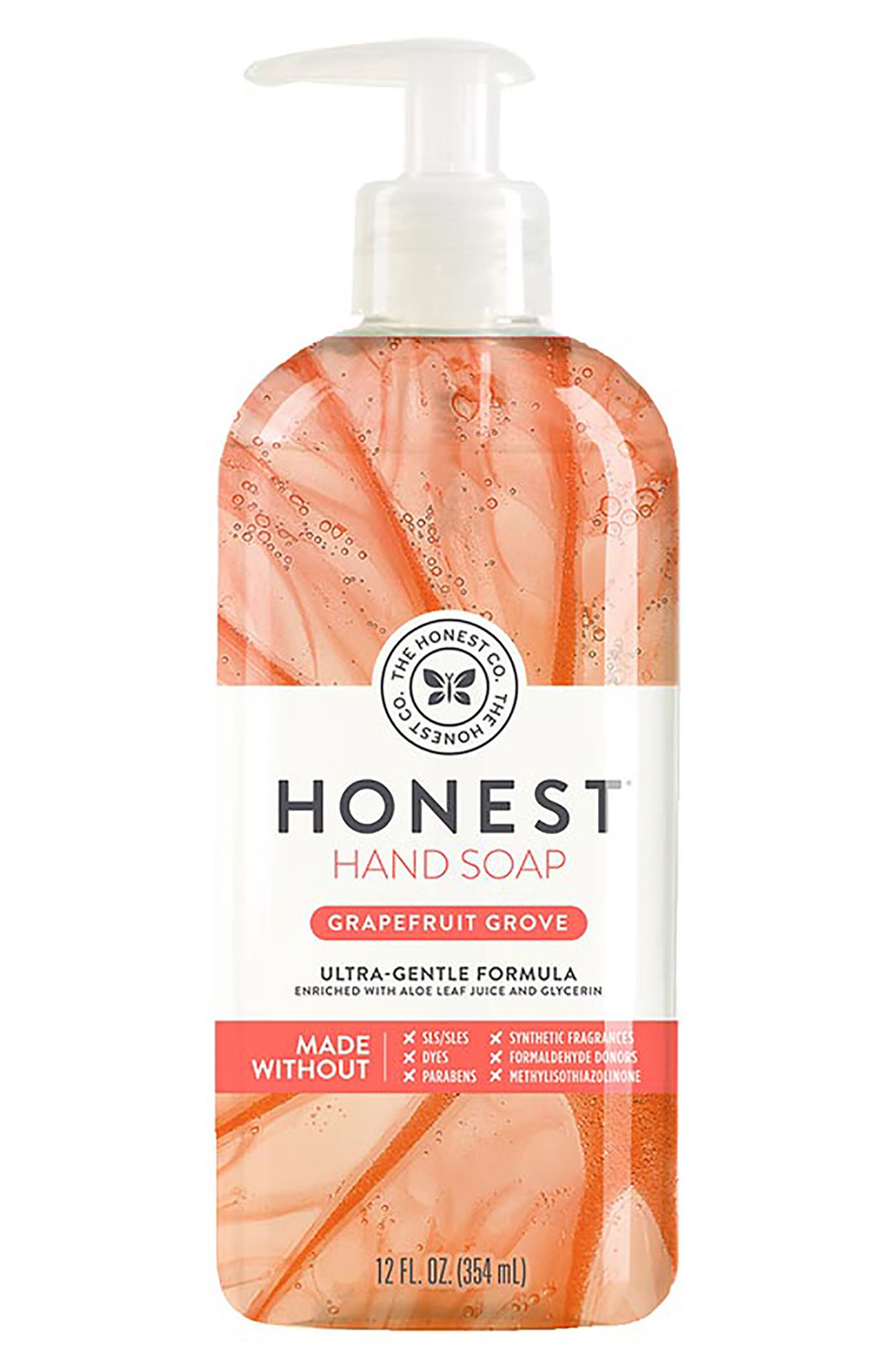 Grapefruit Grove Hand Soap,                             Main thumbnail 1, color,                             Grapefruit Grove