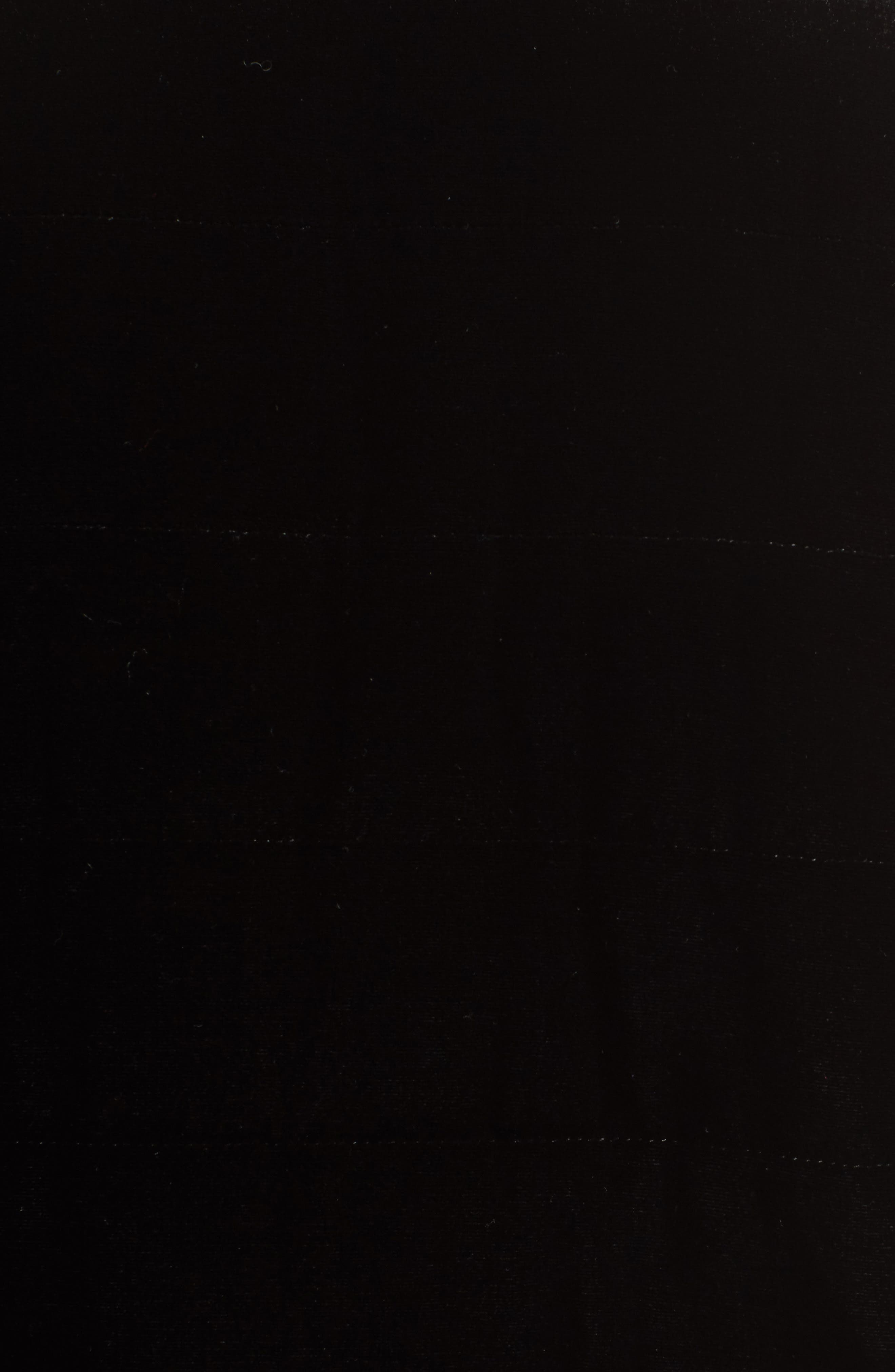 Quilted Velvet Jacket,                             Alternate thumbnail 5, color,                             Black