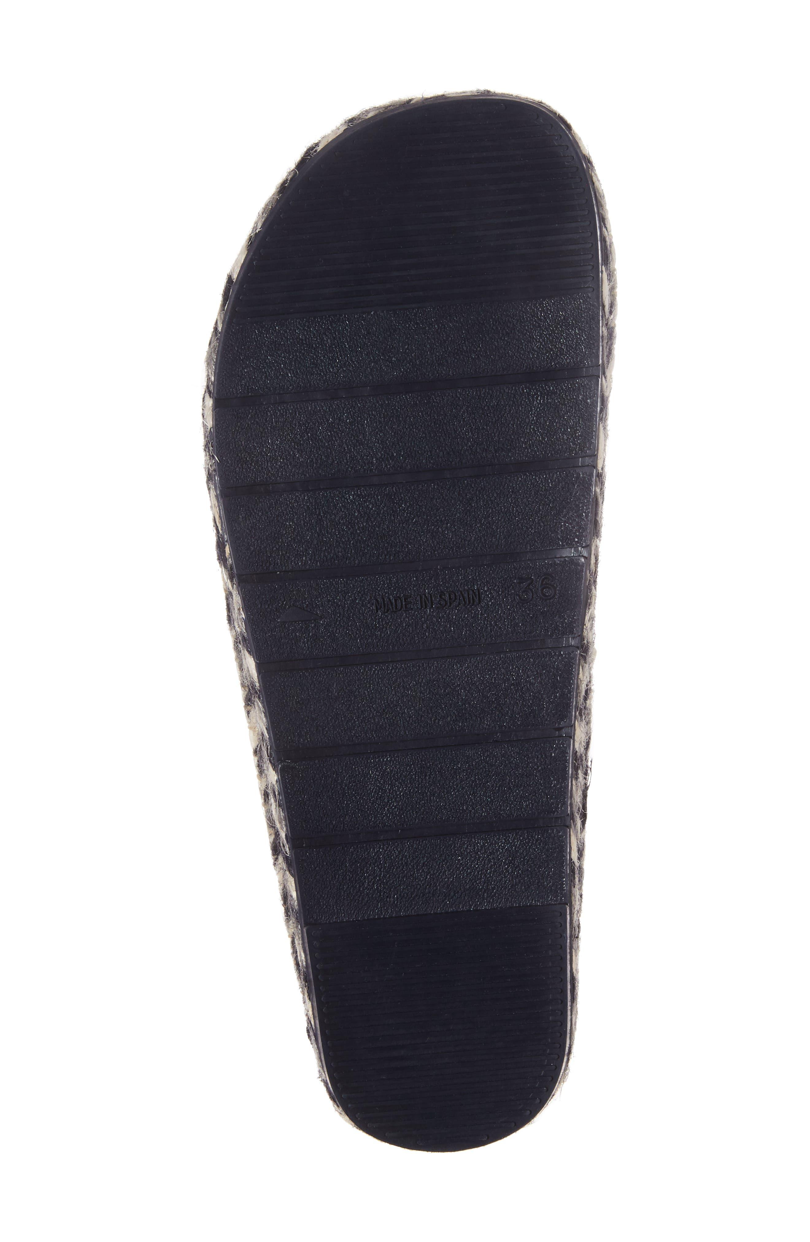Alternate Image 6  - Toni Pons Mysen Faux Fur Lined Espadrille Slipper (Women)