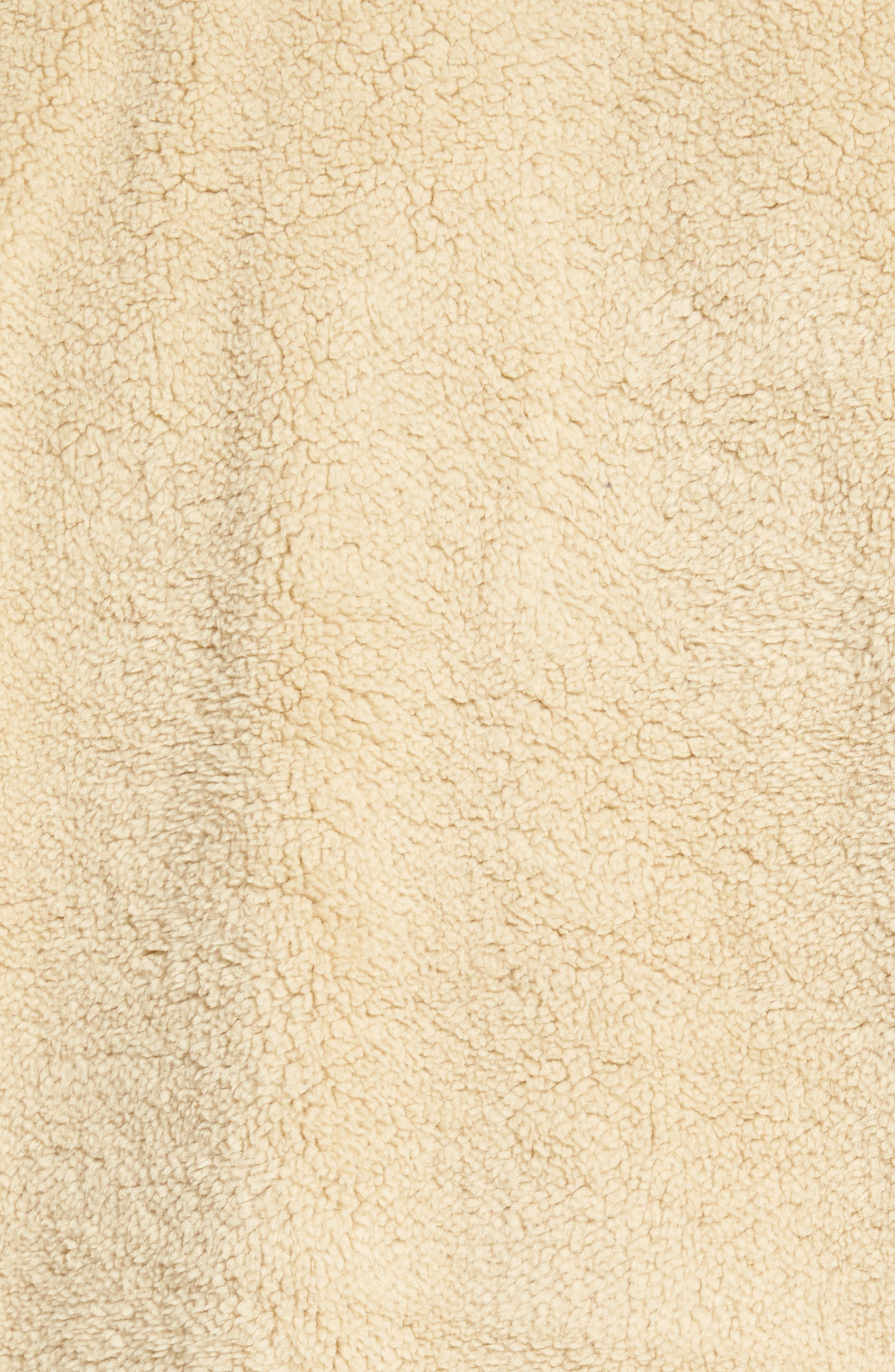 Fuzzy Faux Shearling Pullover,                             Alternate thumbnail 5, color,                             Sand
