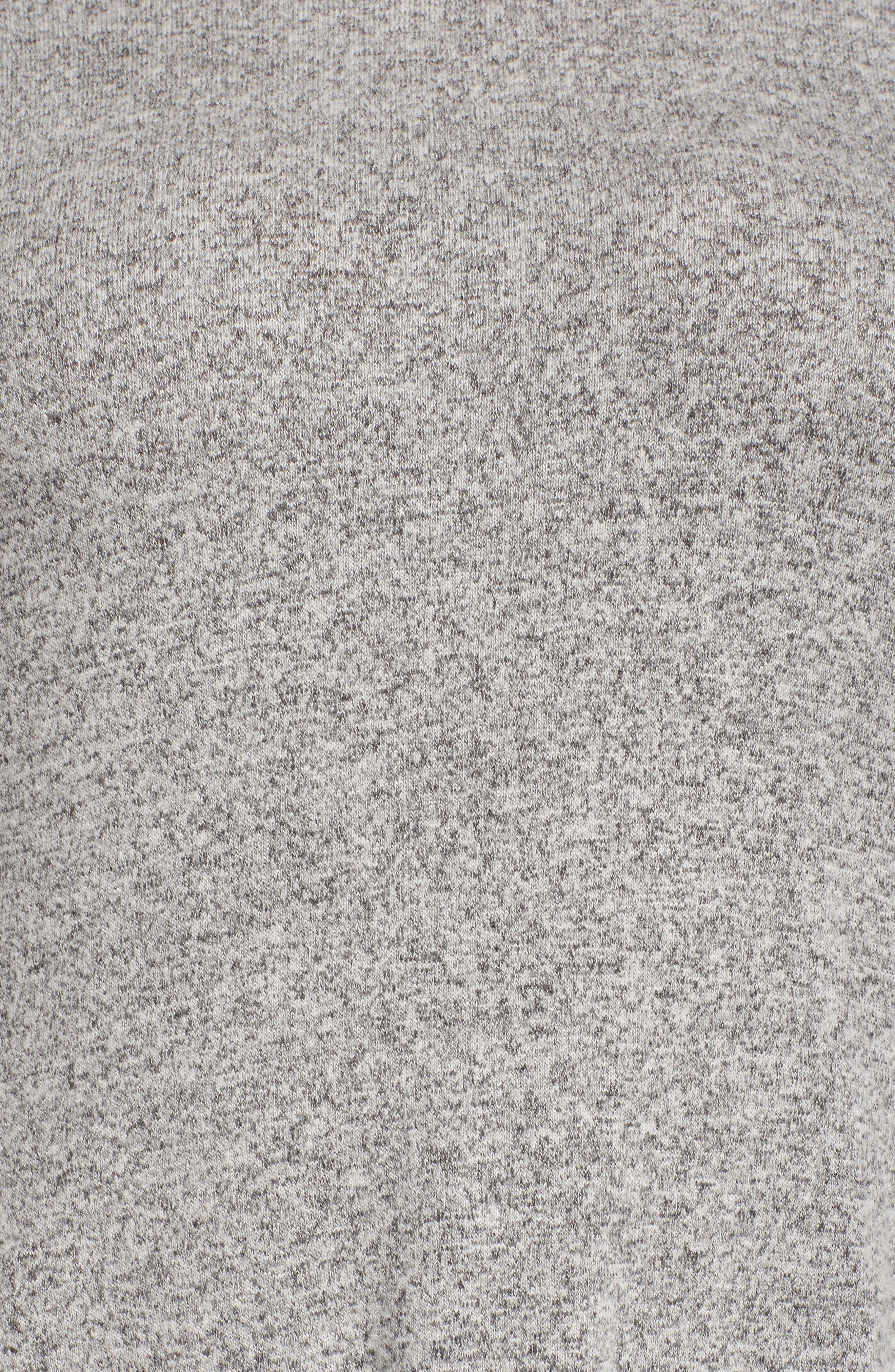 Alternate Image 5  - Caslon® Cozy Back Peplum Top (Plus Size)