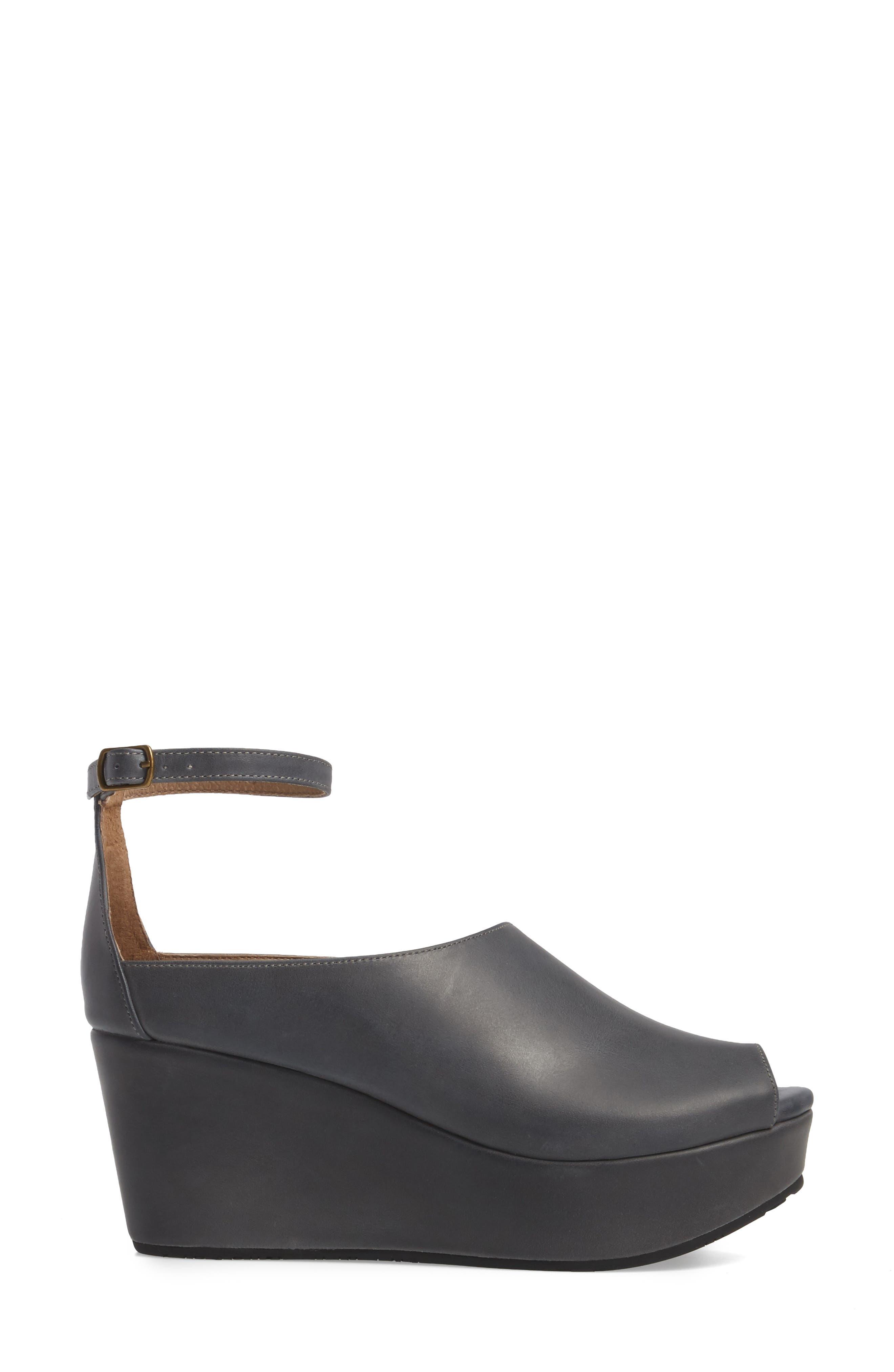 Alternate Image 3  - Chocolat Blu Walter Ankle Strap Wedge Sandal (Women)
