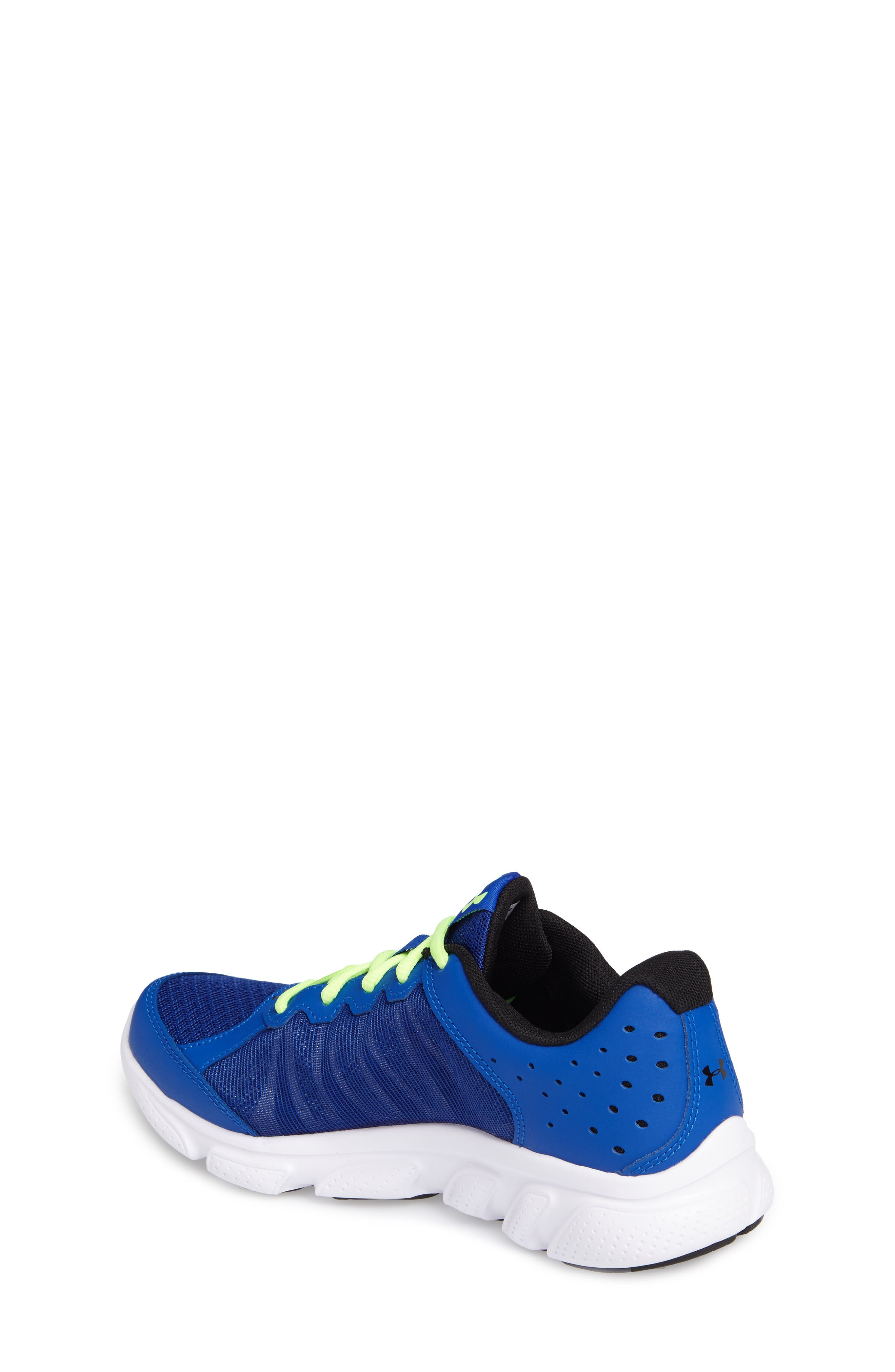 'Micro G<sup>®</sup> Assert VI' Running Shoe,                             Alternate thumbnail 2, color,                             Royal/ White/ Quirky Lime