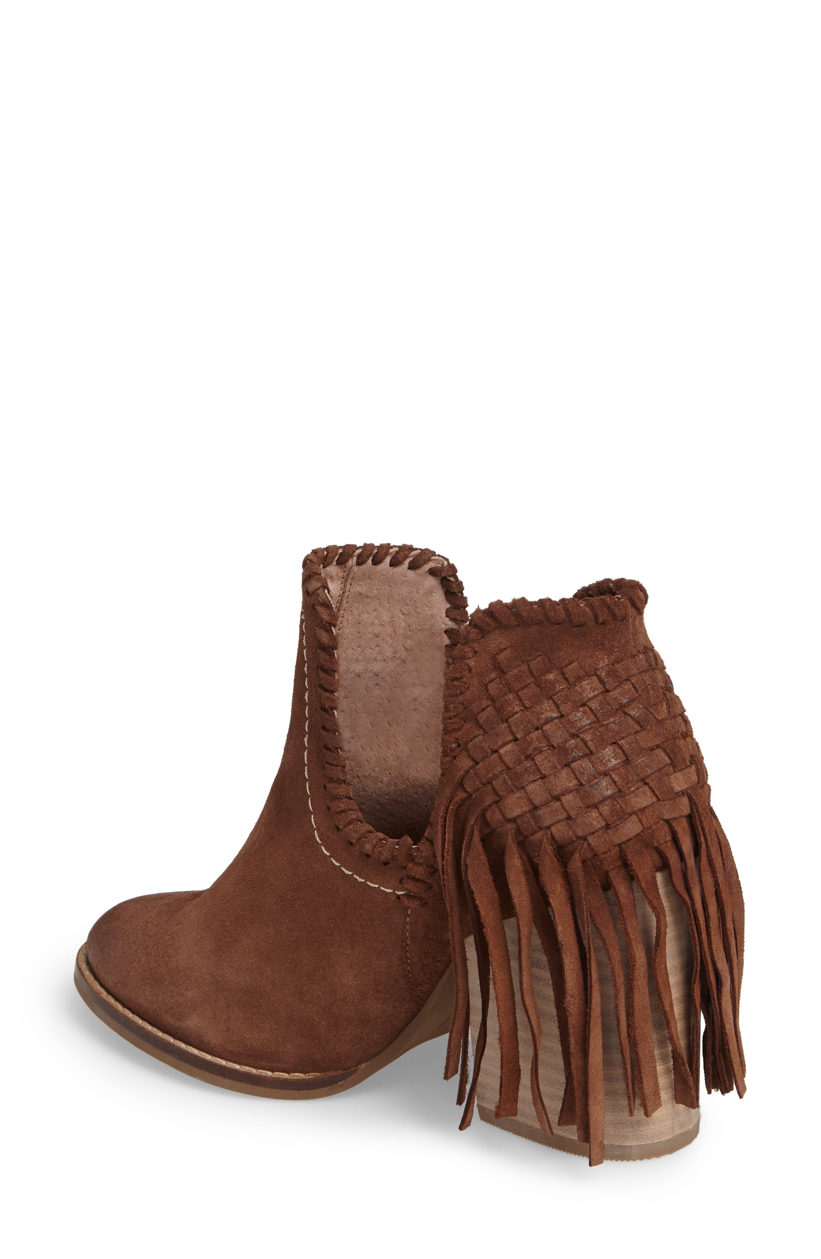 Unbridled Lily Bootie,                             Alternate thumbnail 2, color,                             Whiskey Suede