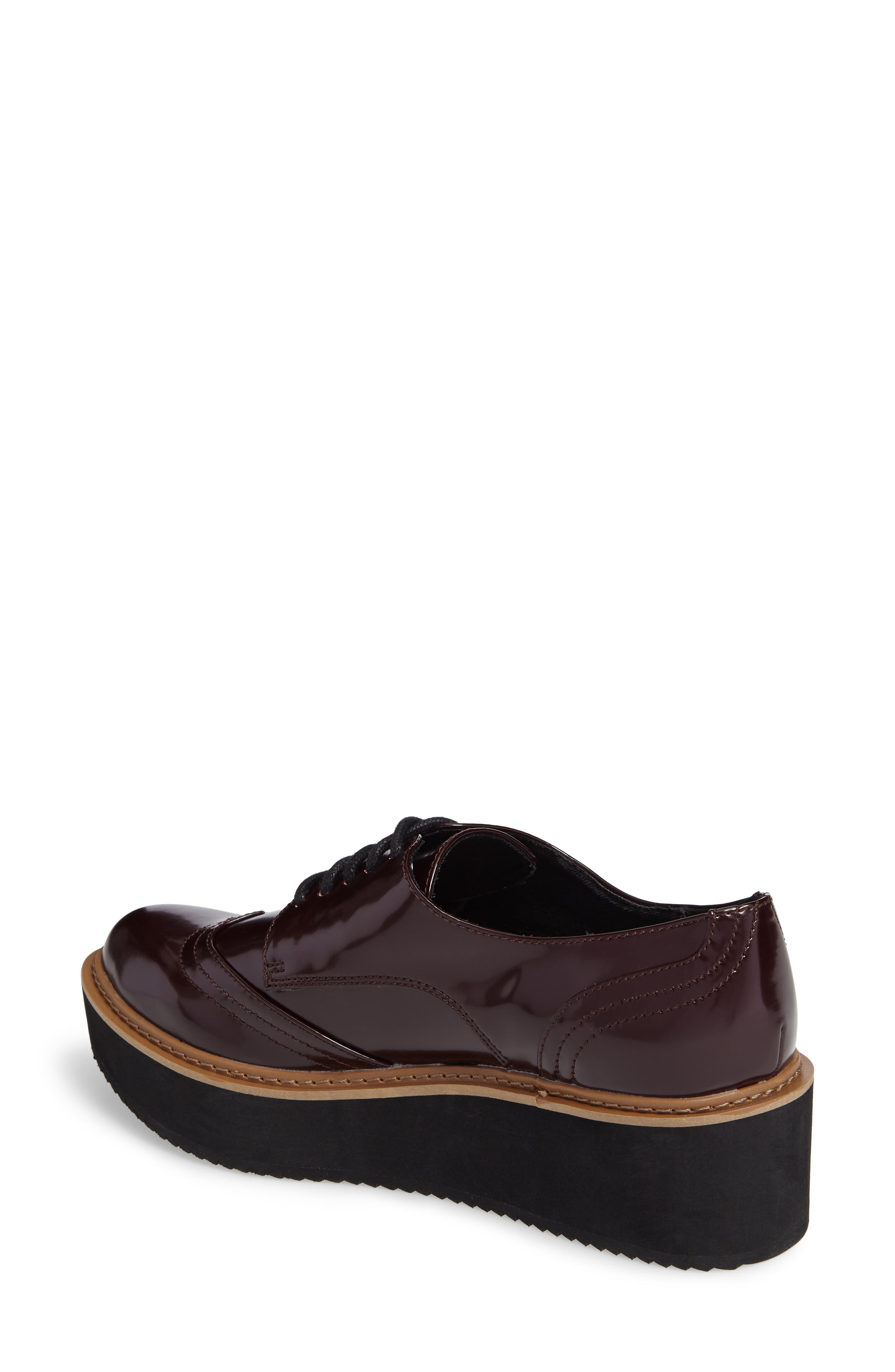 Lydia Oxford,                             Alternate thumbnail 2, color,                             Burgundy Patent
