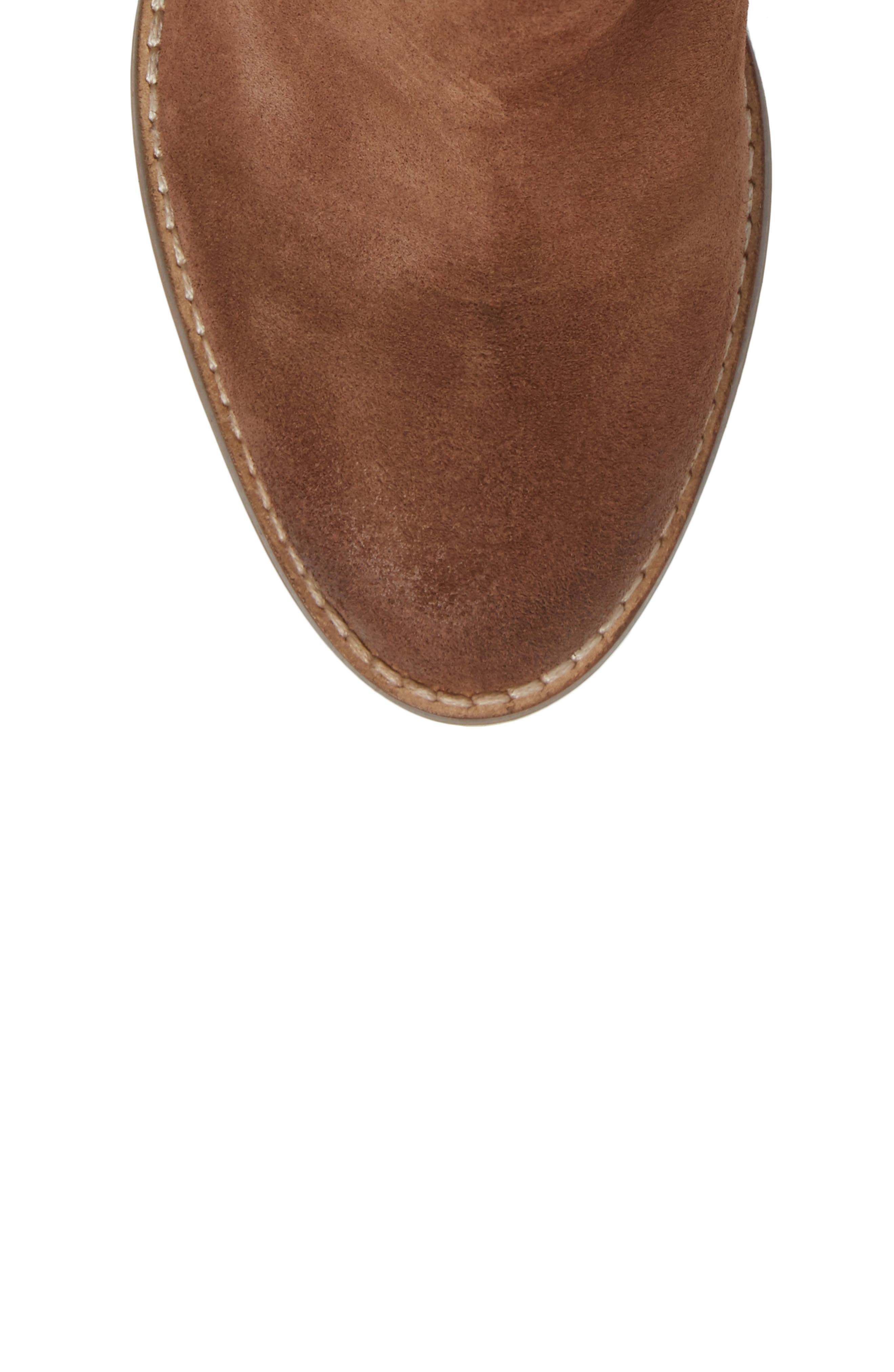 Unbridled Lily Bootie,                             Alternate thumbnail 5, color,                             Whiskey Suede