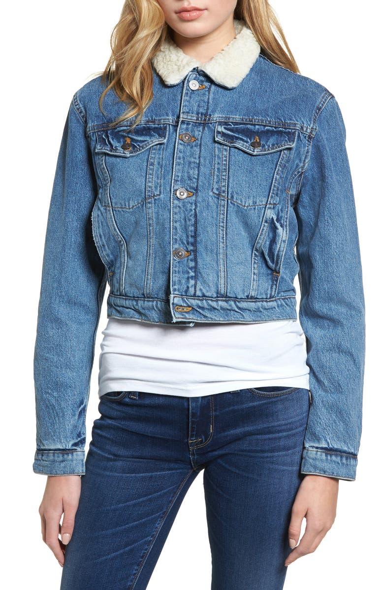 Georgia Fleece Lined Denim Jacket