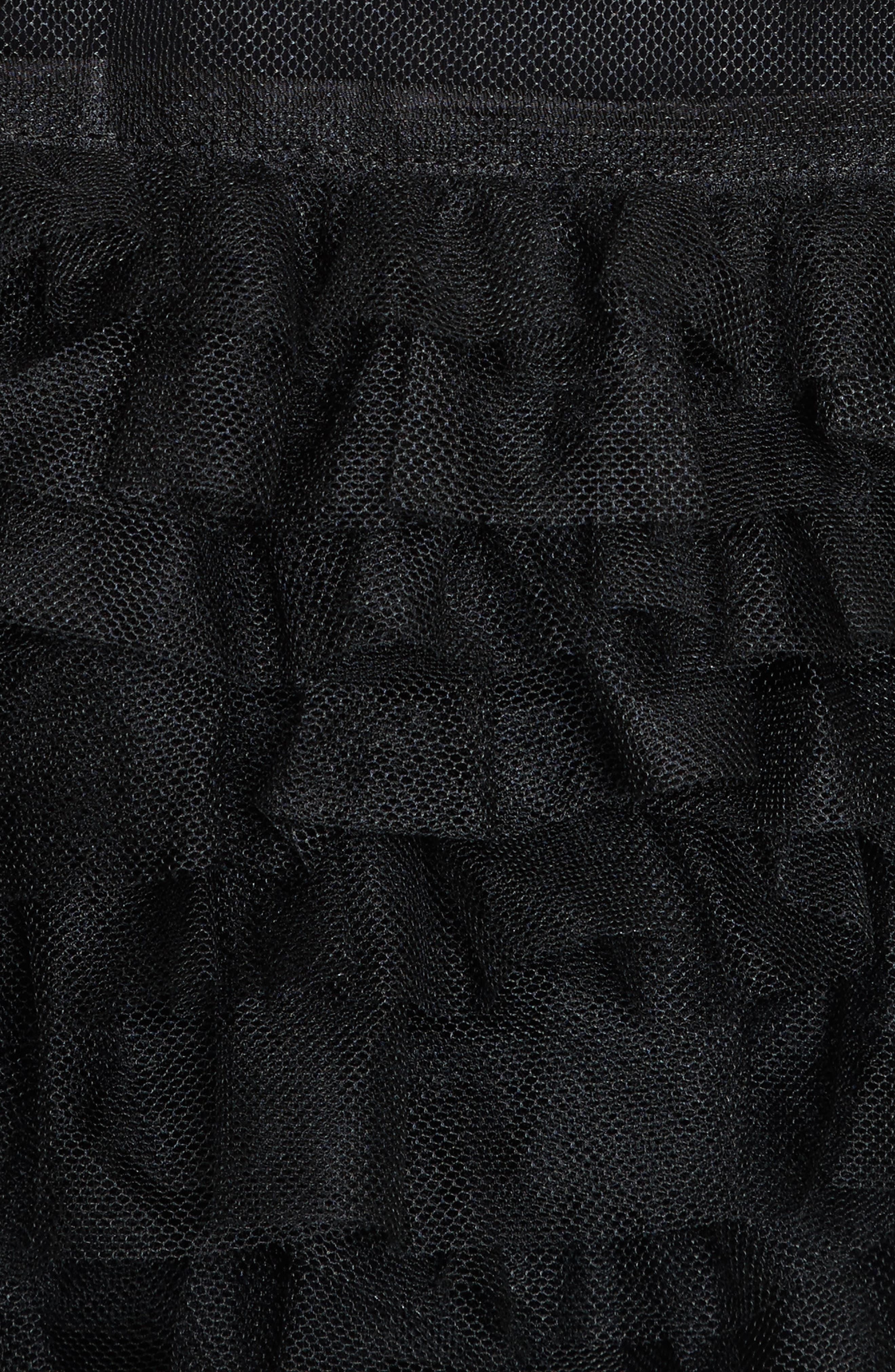 Alternate Image 5  - noir kei ninomiya Frilled Tulle Blouse