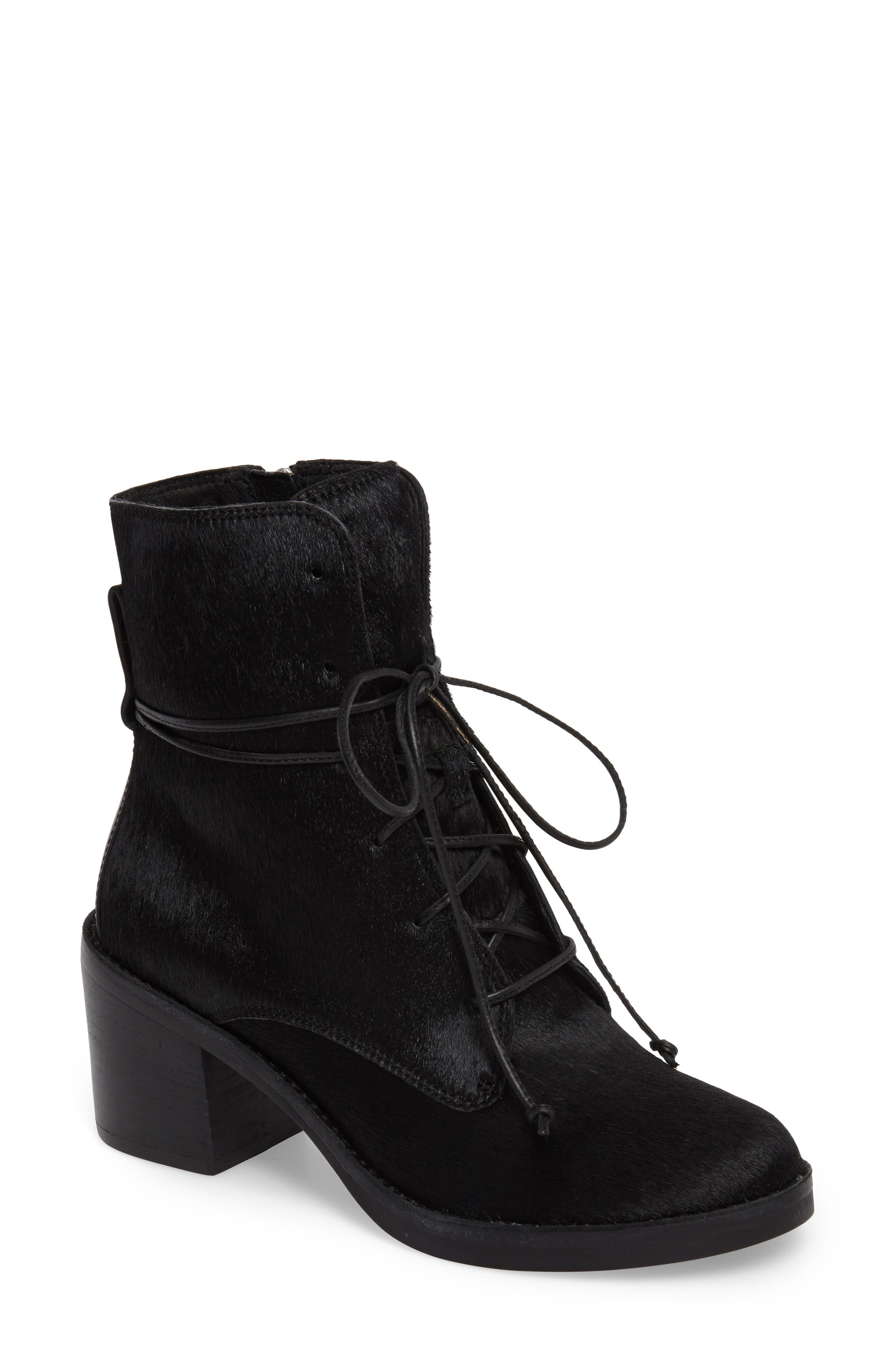 UGG® Oriana Genuine Calf Hair Lace-Up Boot (Women)