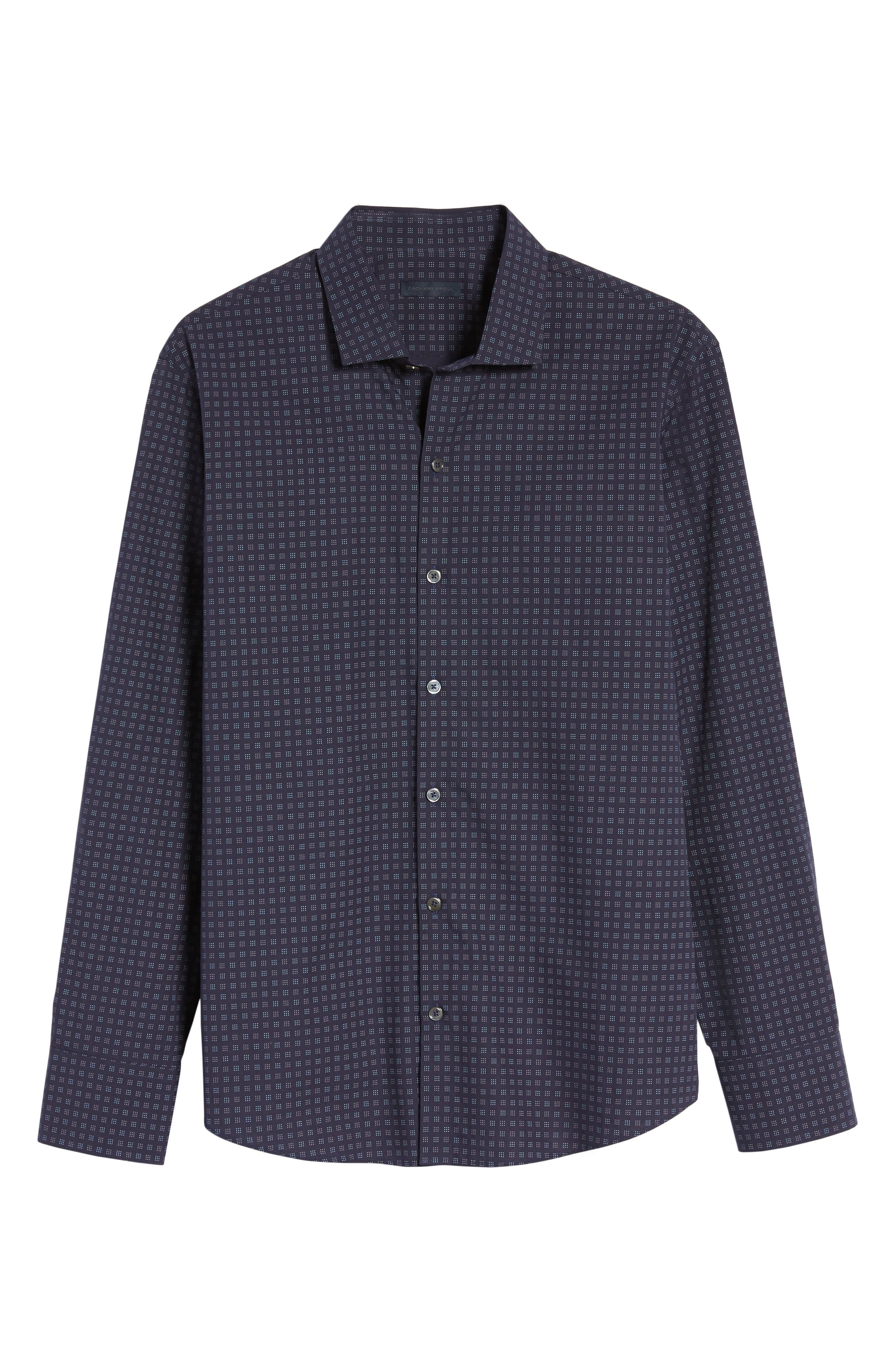 Alternate Image 6  - Zachary Prell Maison Slim Fit Print Sport Shirt