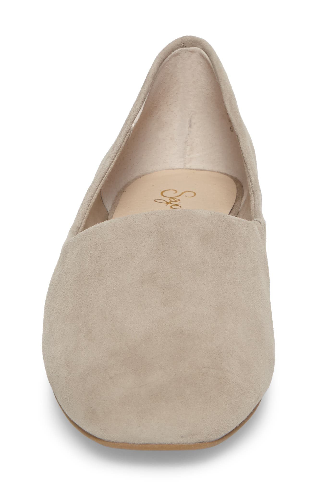 Role Flat,                             Alternate thumbnail 4, color,                             Taupe Suede