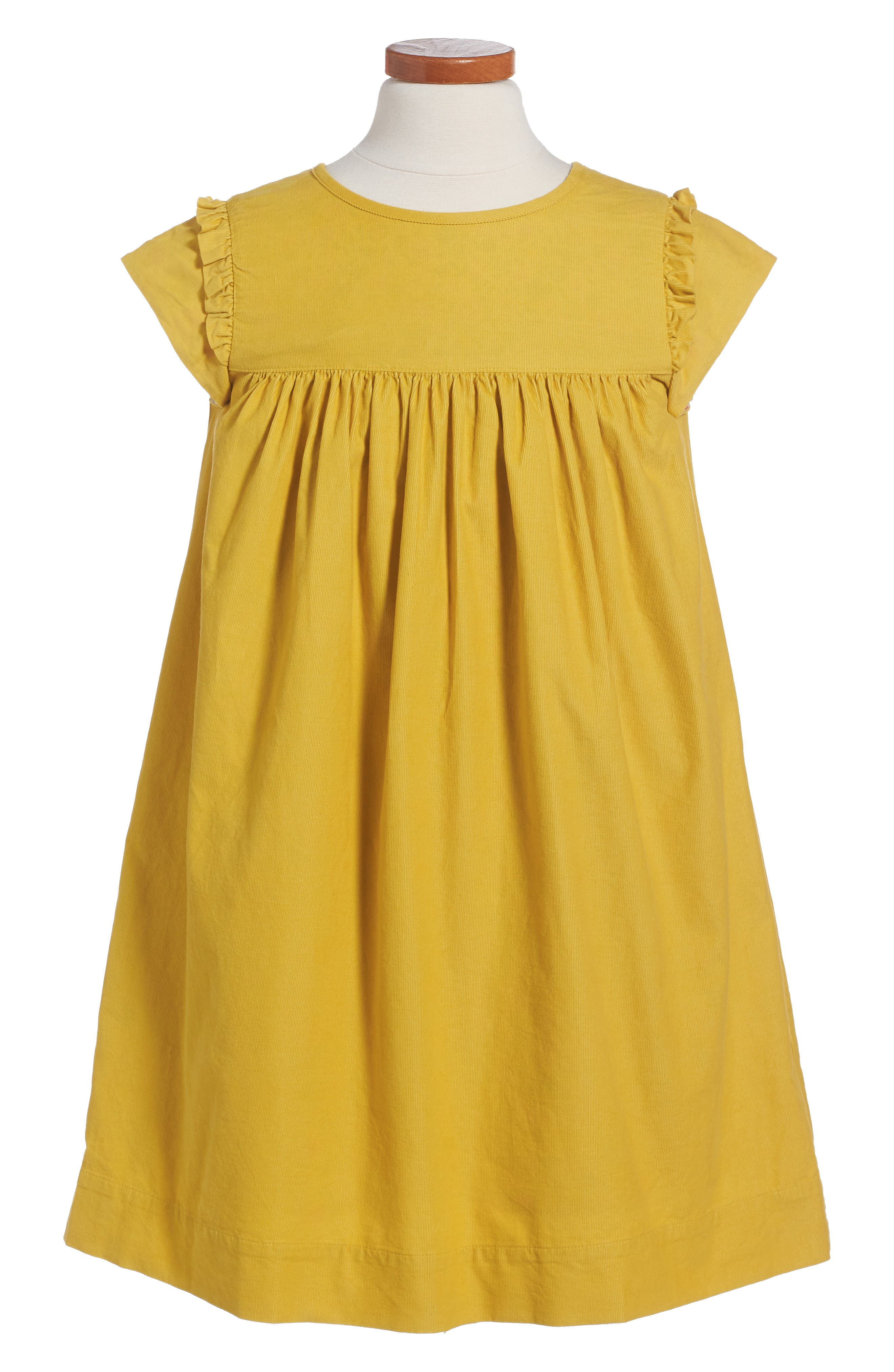 Mini Boden Pretty Corduroy Dress (Toddler Girls, Little Girls & Big Girls)