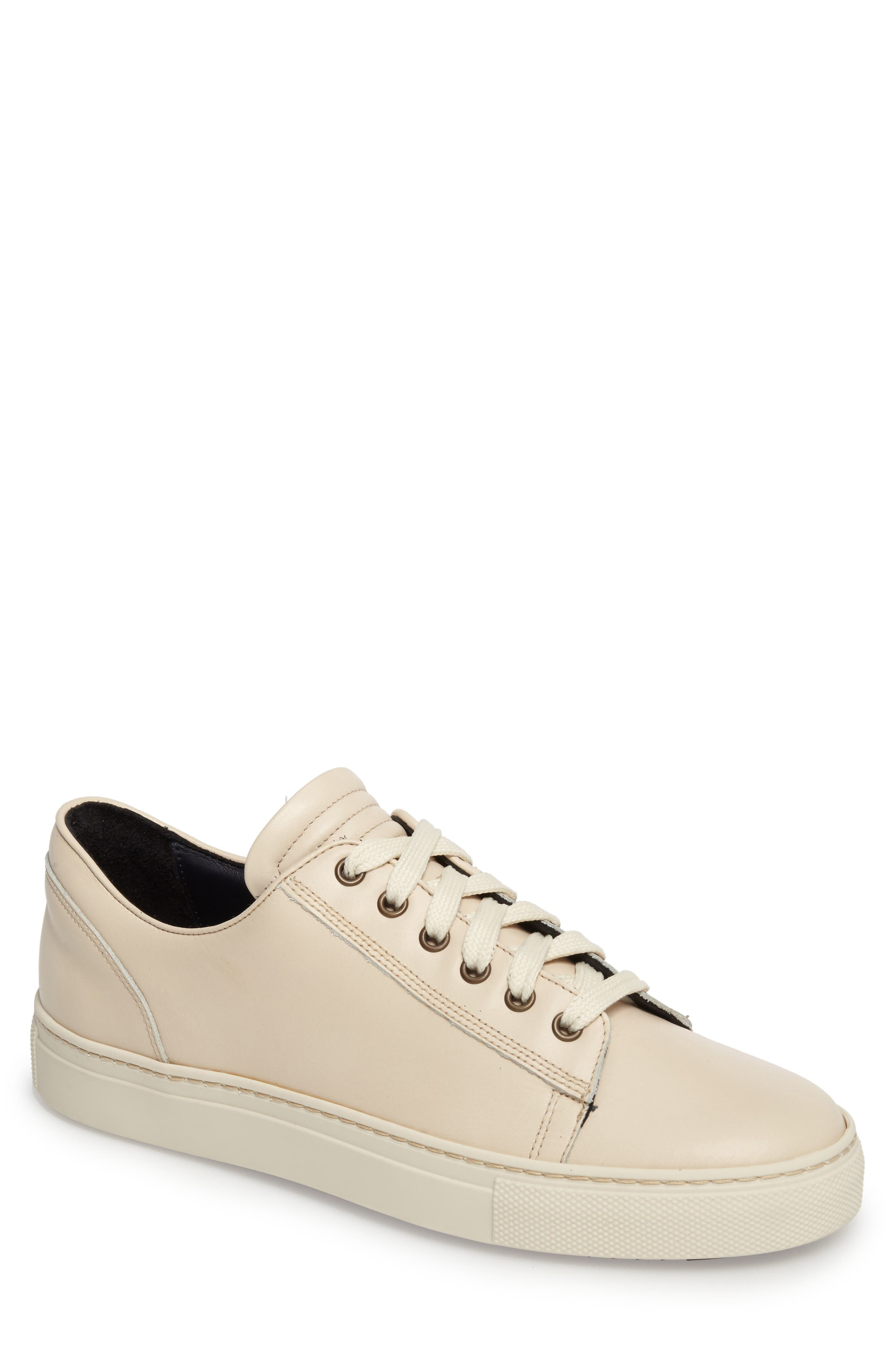 Taranto Sneaker,                         Main,                         color, Off White Leather