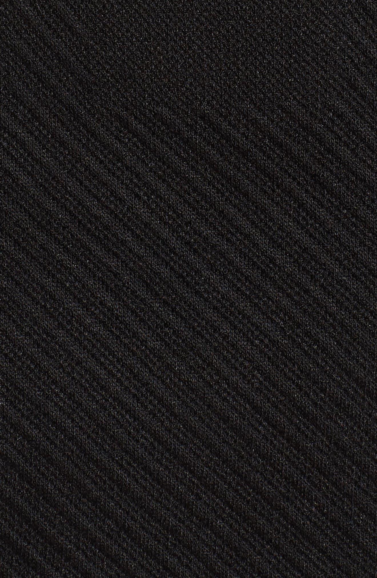 Kanelli Jacquard Jacket,                             Alternate thumbnail 6, color,                             Black