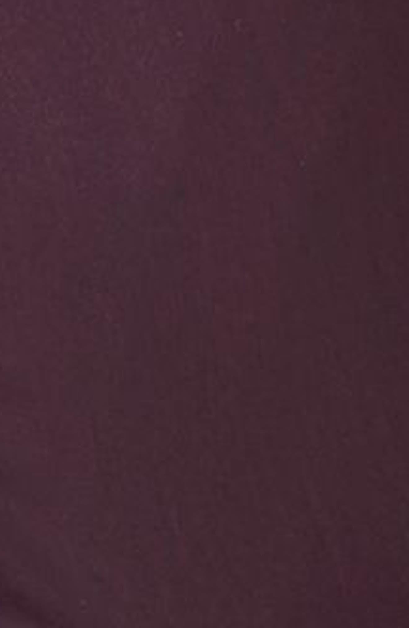Alternate Image 4  - Topman Skinny Fit Plum Suit Trousers