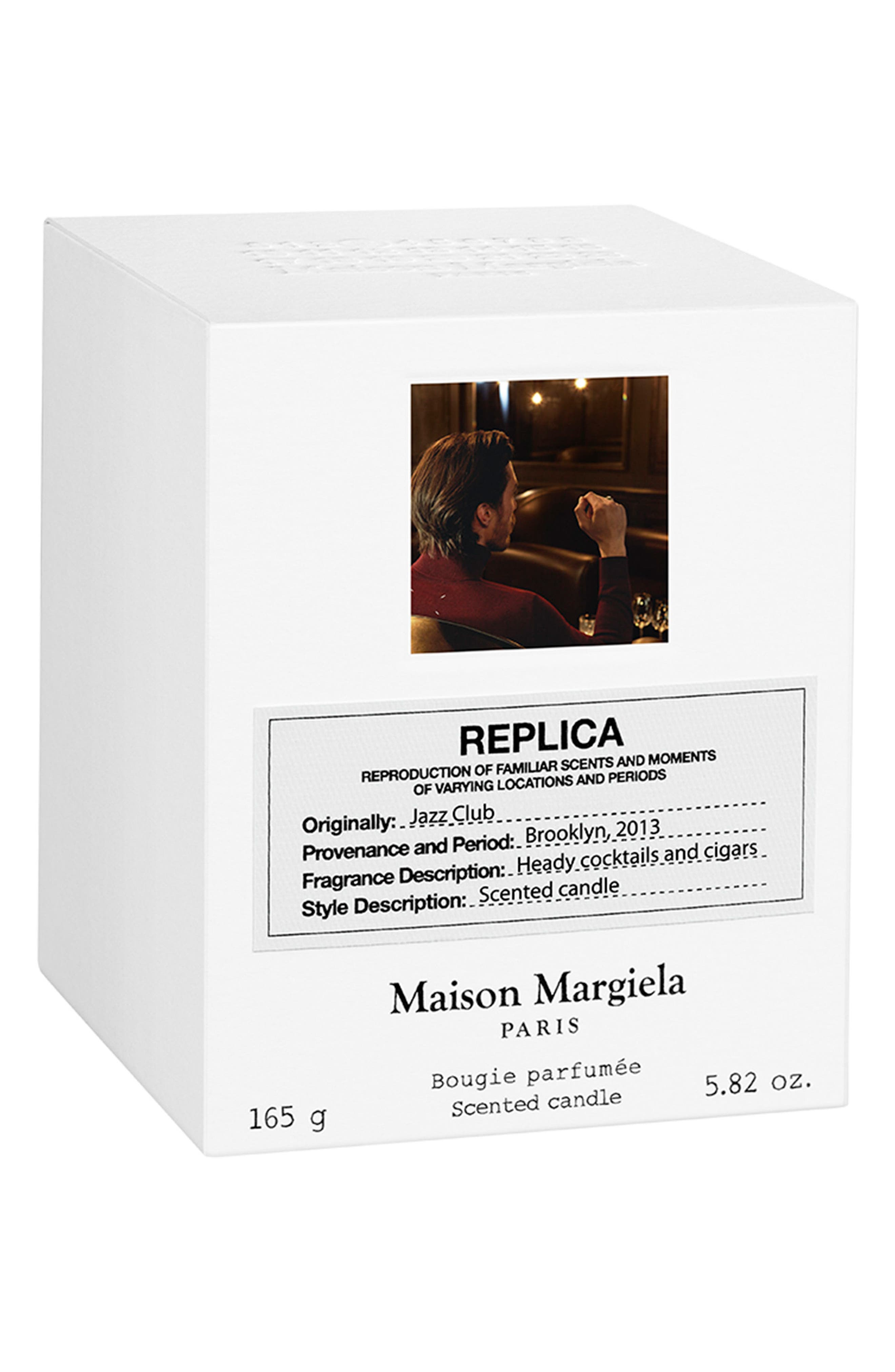 Replica Jazz Club Scented Candle,                             Alternate thumbnail 3, color,                             No Color
