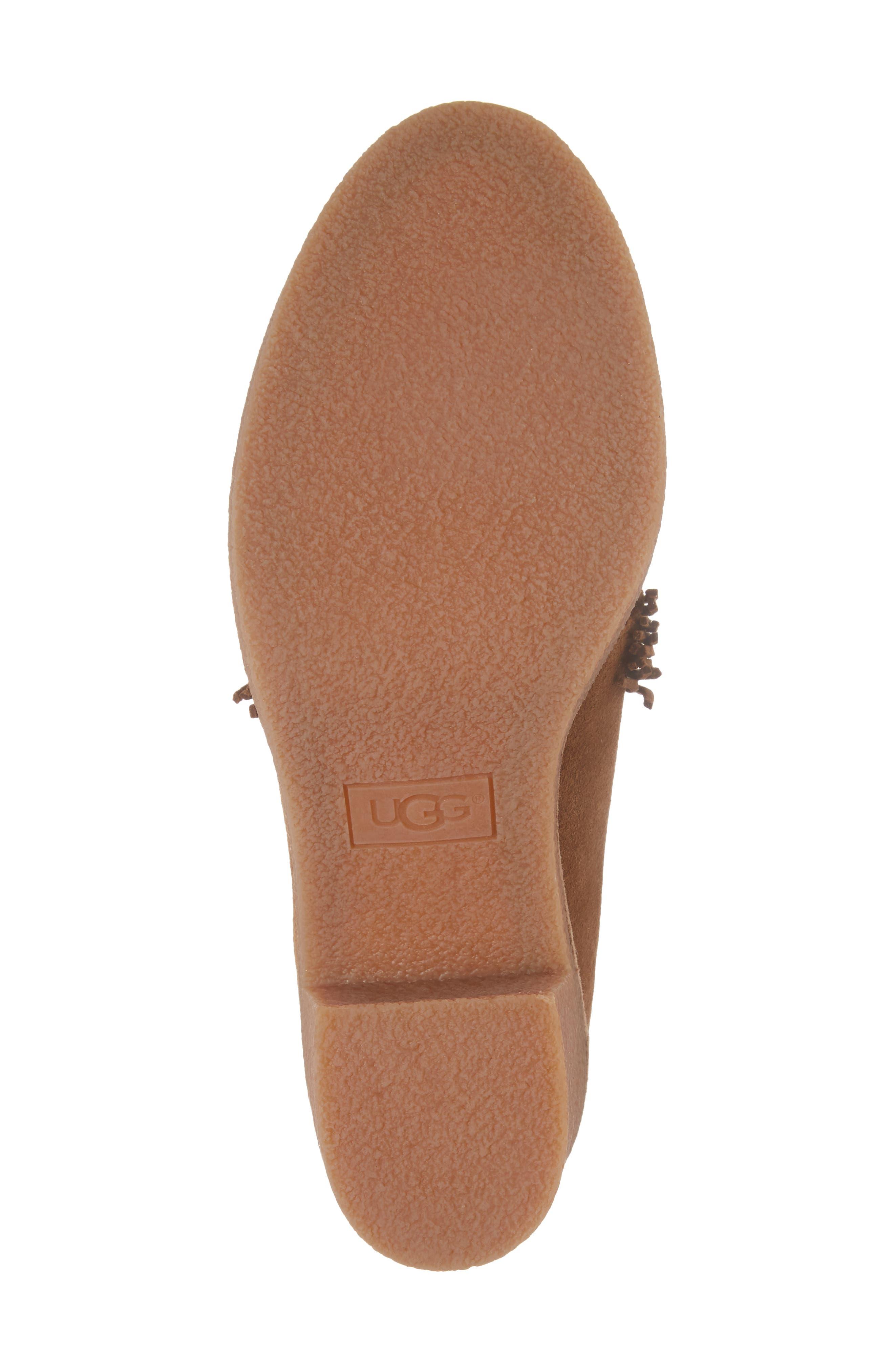Alternate Image 6  - UGG® Corin Fringe Tassel Bootie (Women)