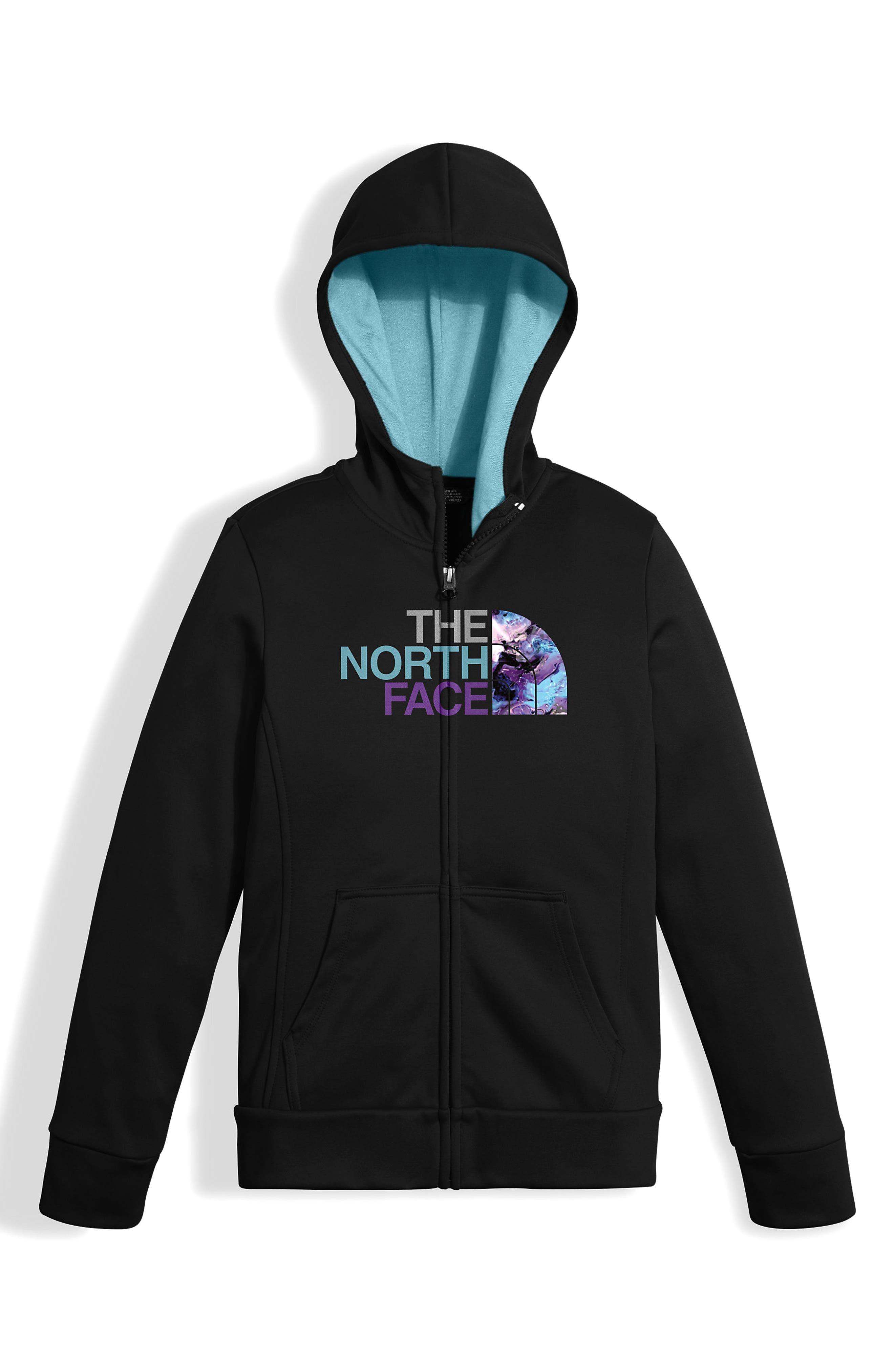 Surgent Full Zip Hoodie,                         Main,                         color, Tnf Black