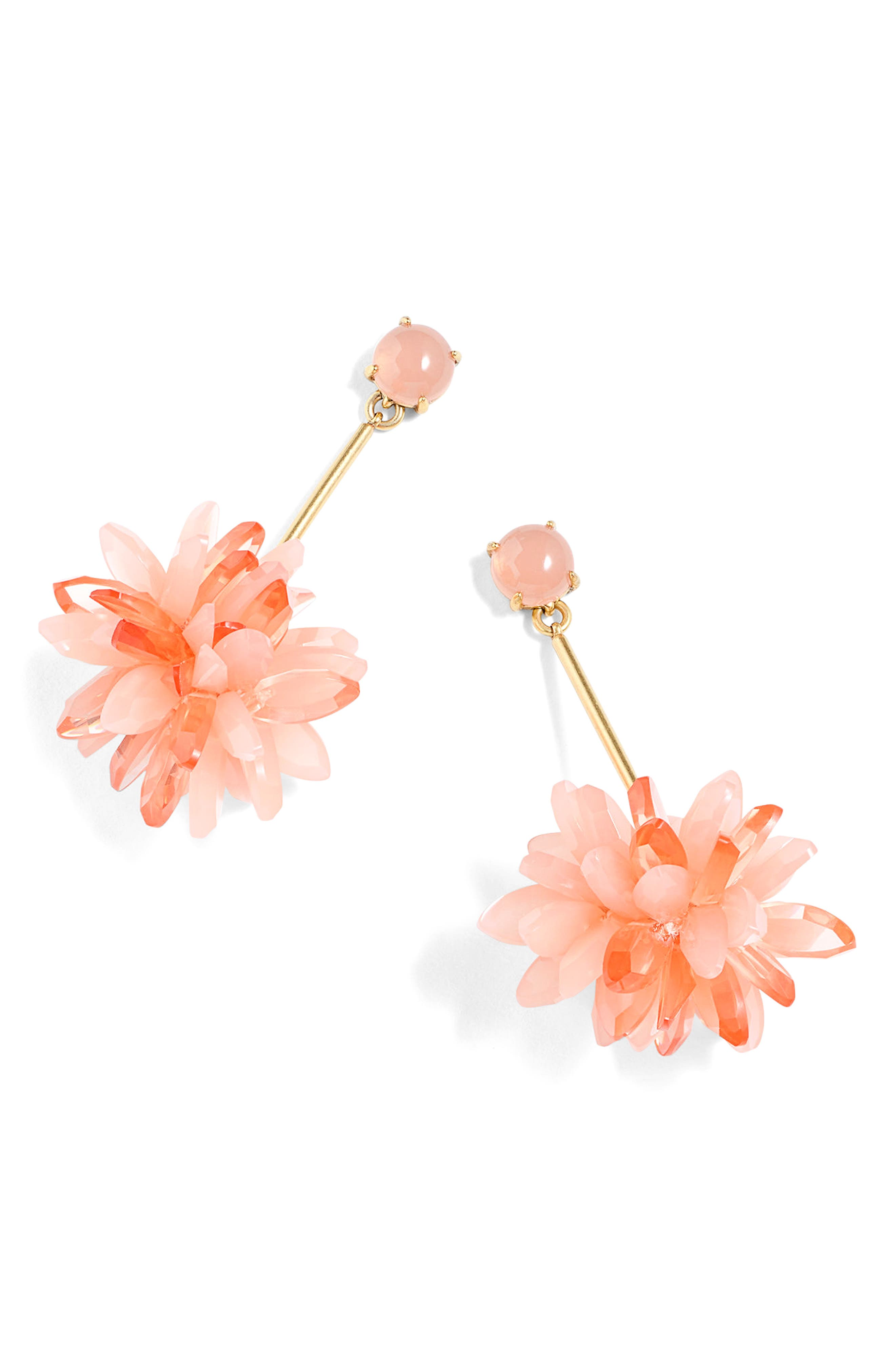 J.Crew Carnation Drop Earrings