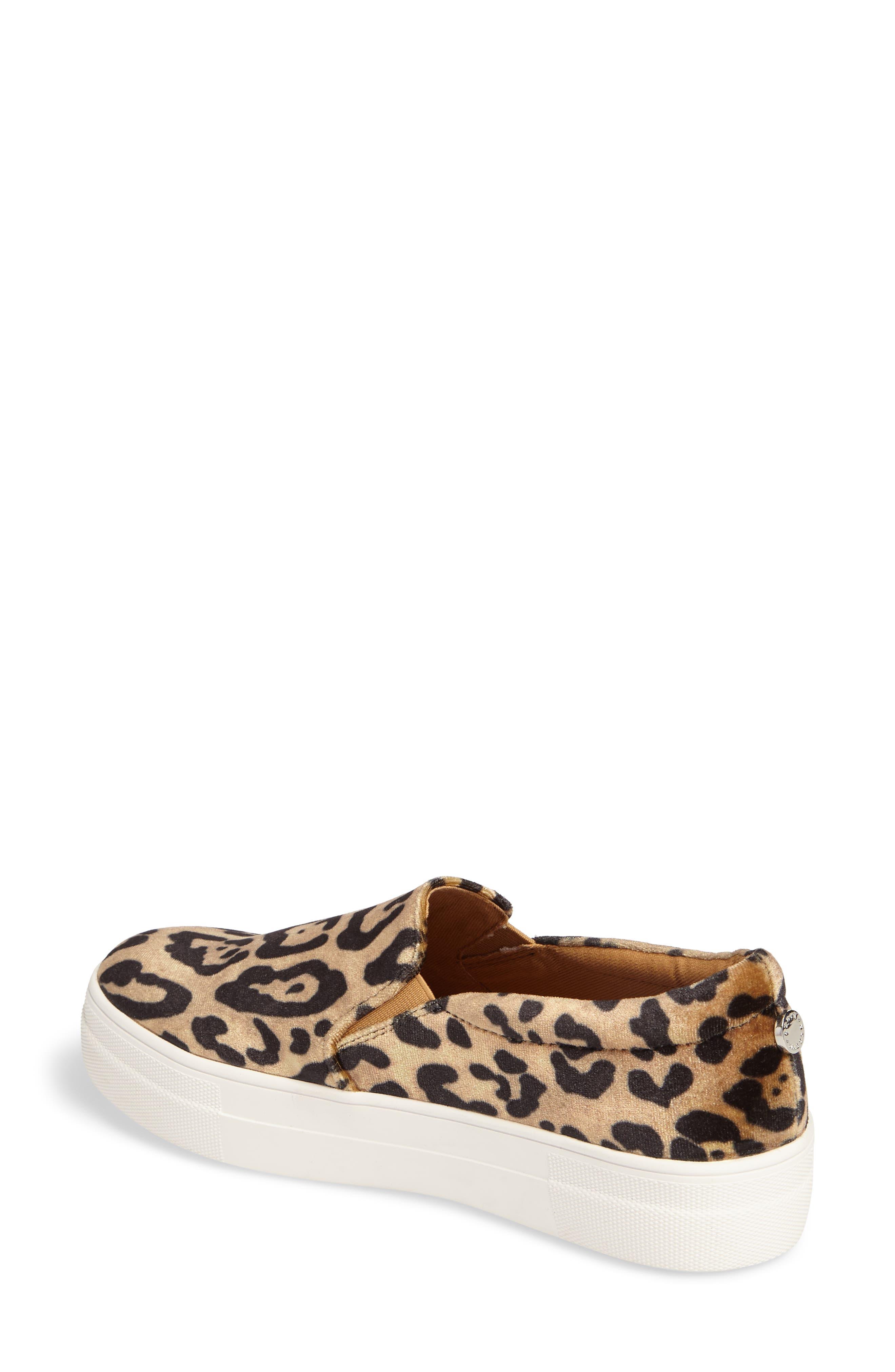 Gills Platform Slip-On Sneaker,                             Alternate thumbnail 2, color,                             Leopard