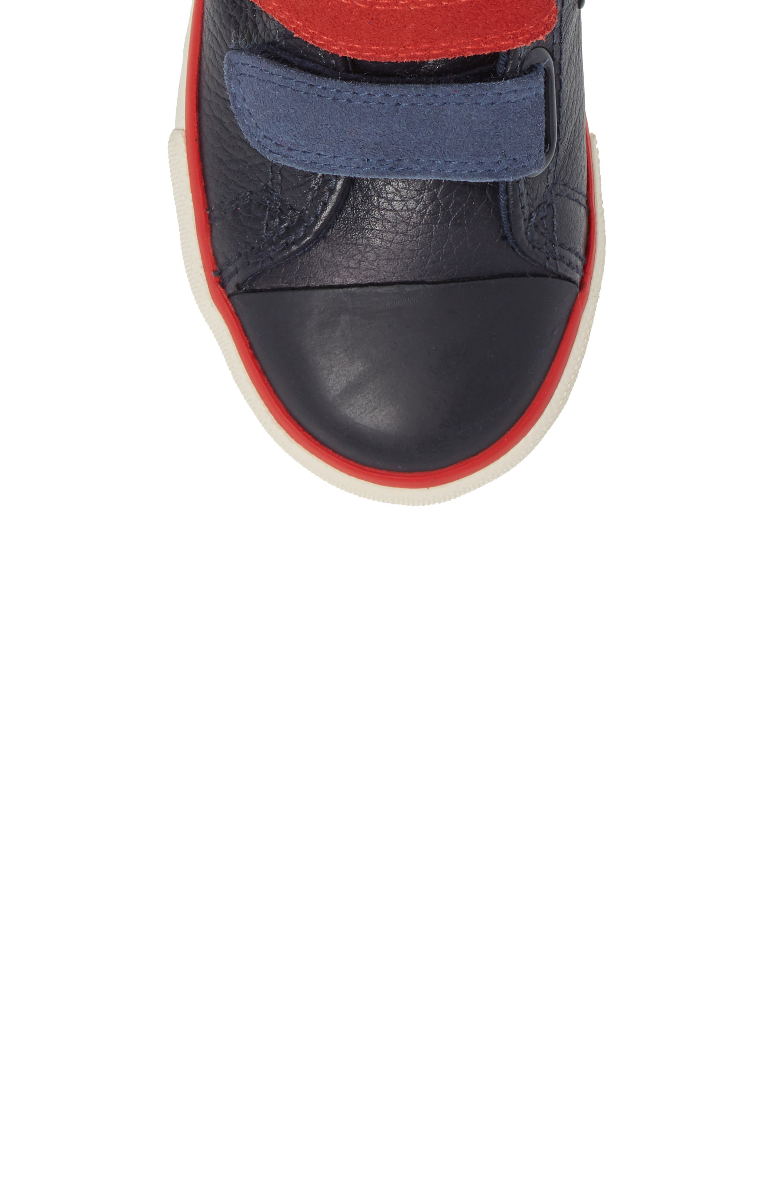 High Top Sneaker,                             Alternate thumbnail 5, color,                             Navy