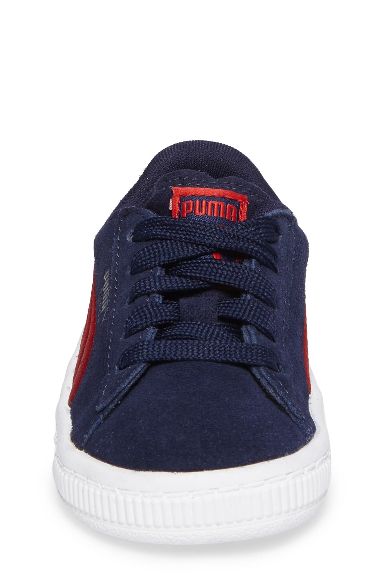 Alternate Image 4  - PUMA Suede Classic Sneaker (Baby, Walker & Toddler)