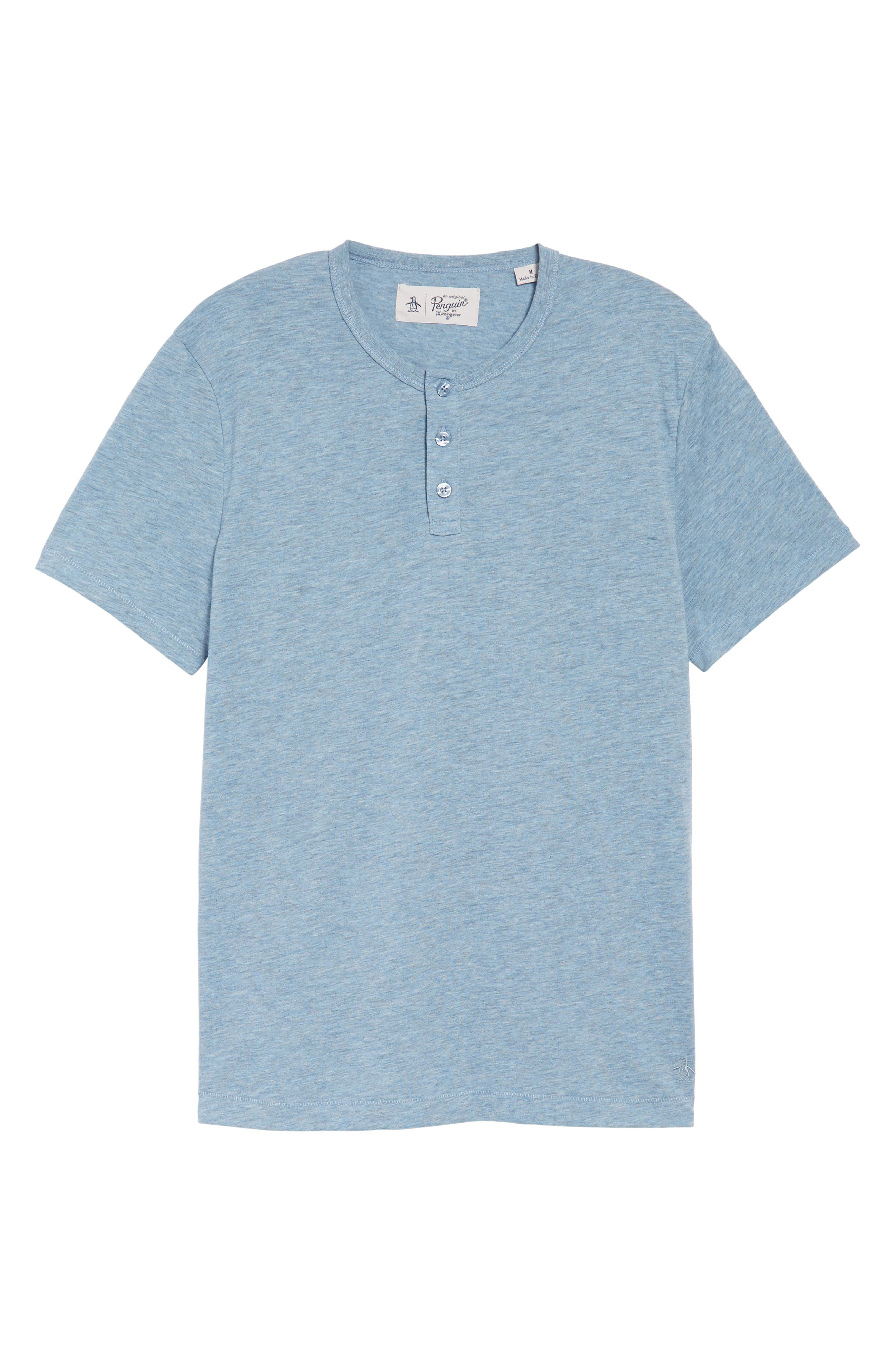 Original Penguin Bing Short Sleeve Henley Shirt