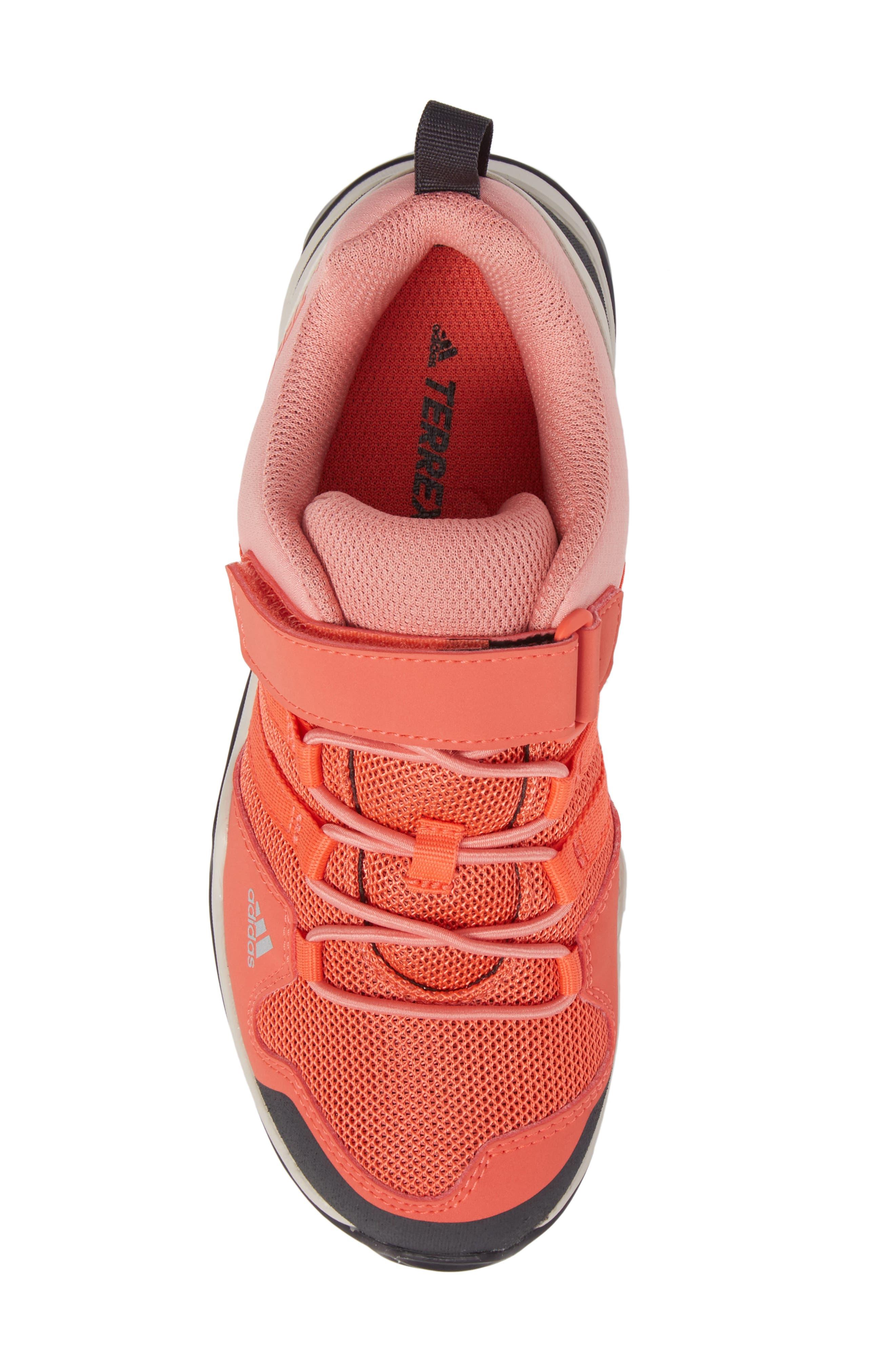 Terrex AX2R Sneaker,                             Alternate thumbnail 5, color,                             Easy Coral/ Tactile Rose