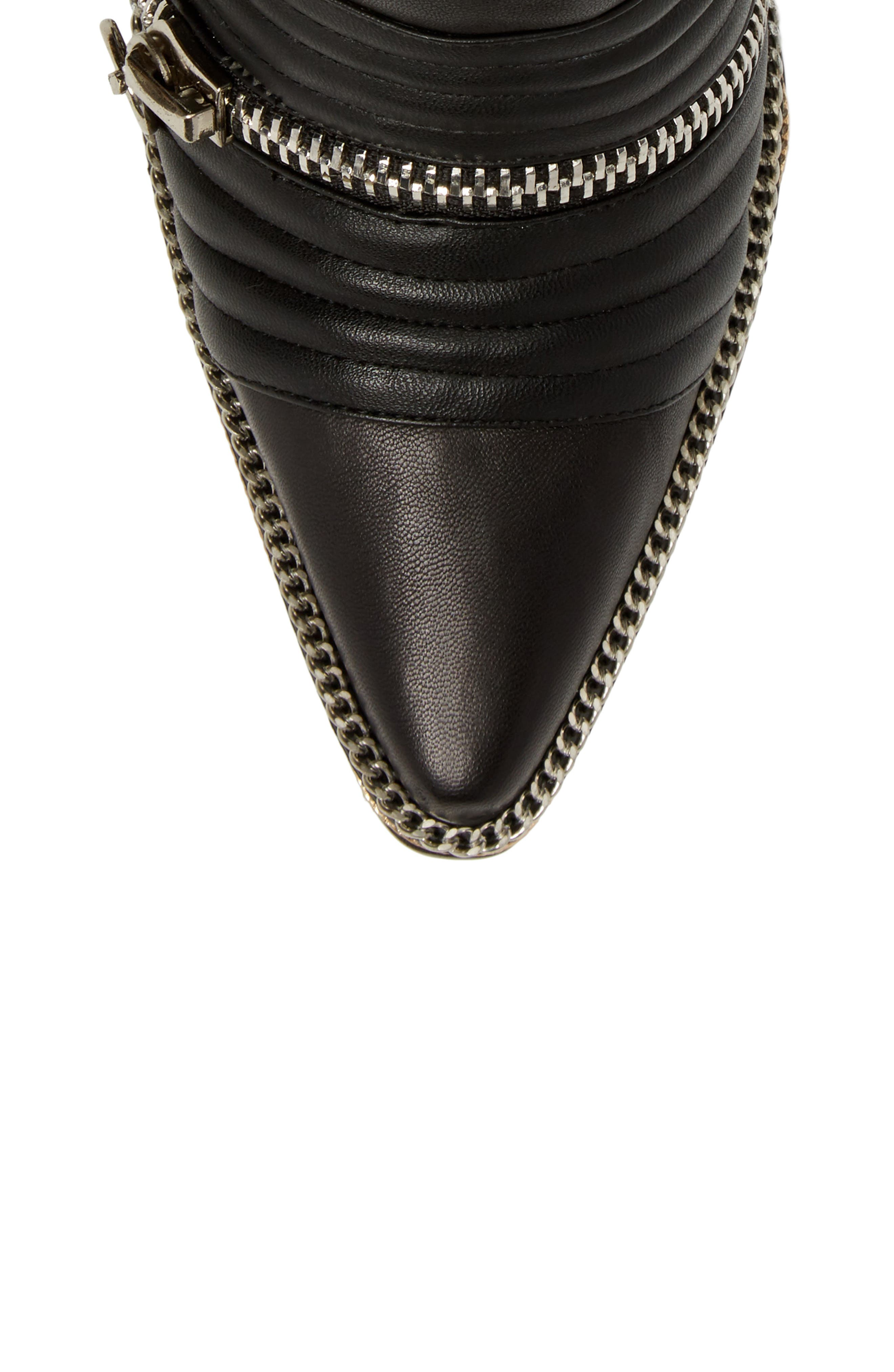 Alternate Image 4  - Jeffrey Campbell Tenzin Chain Pointy Toe Boot (Women)
