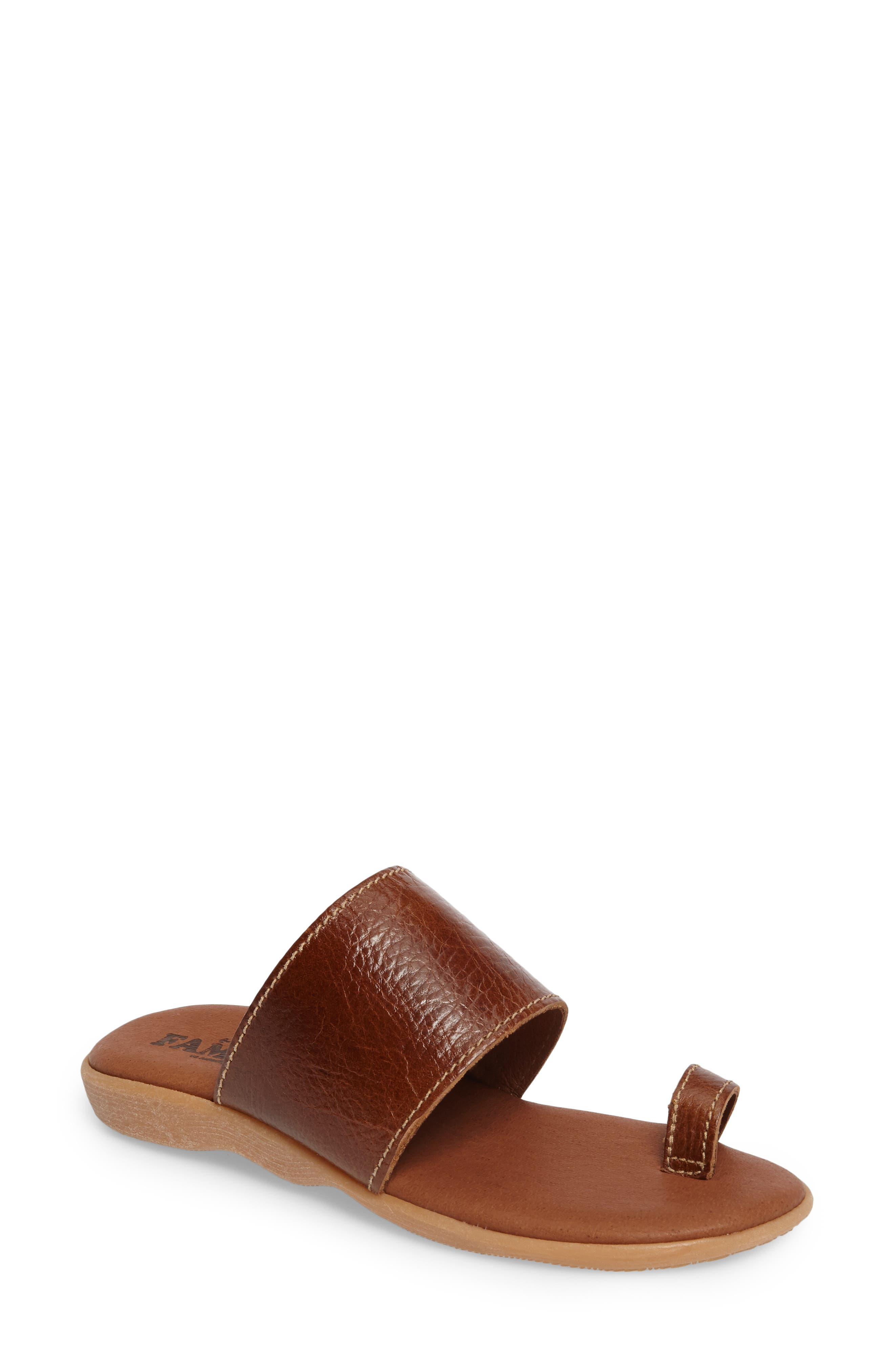 Alternate Image 1 Selected - Famolare Band & Deliver Toe Loop Slide Sandal (Women)