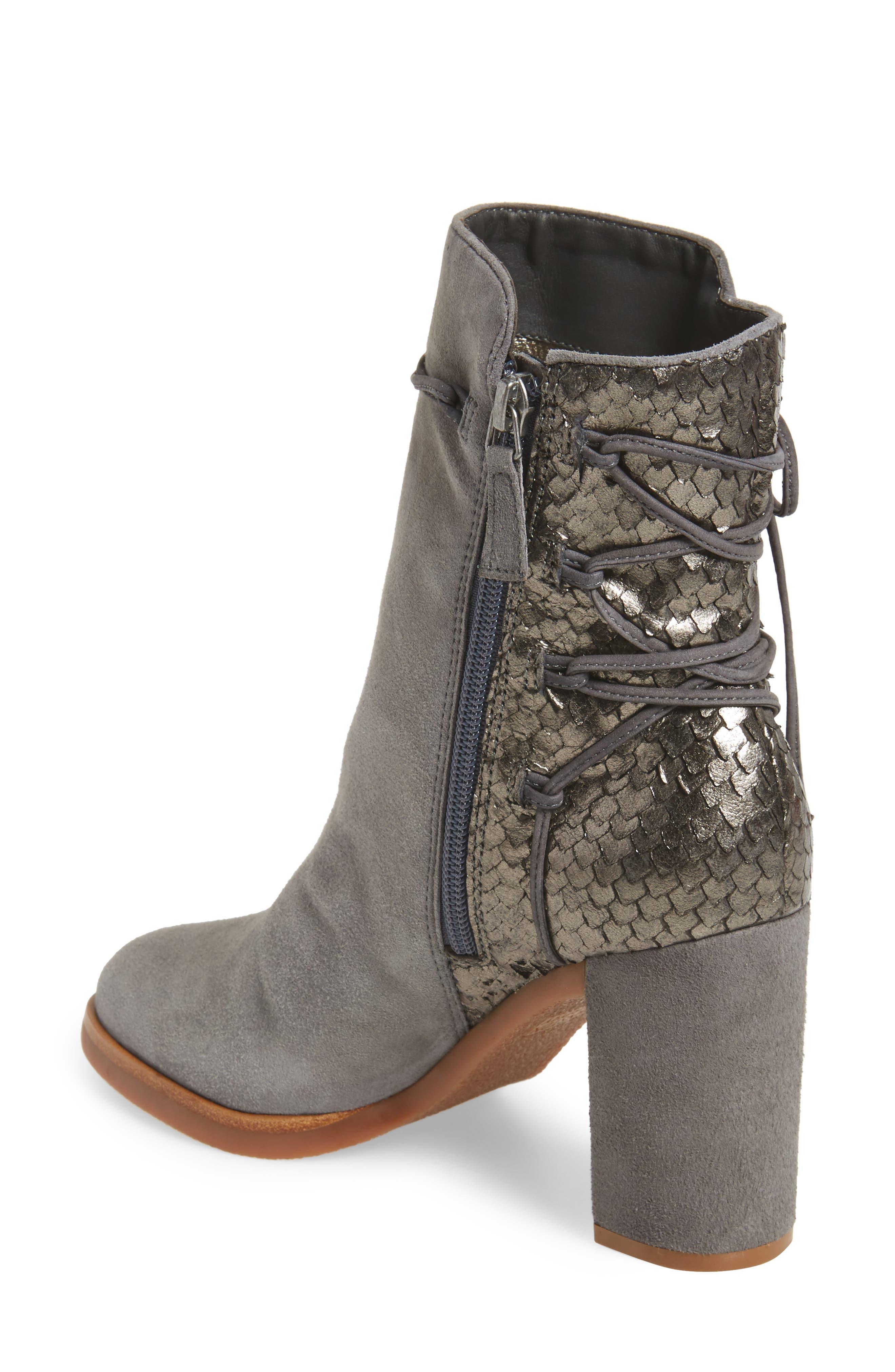 Alternate Image 2  - Johnston & Murphy Adley Ankle Wrap Boot (Women)