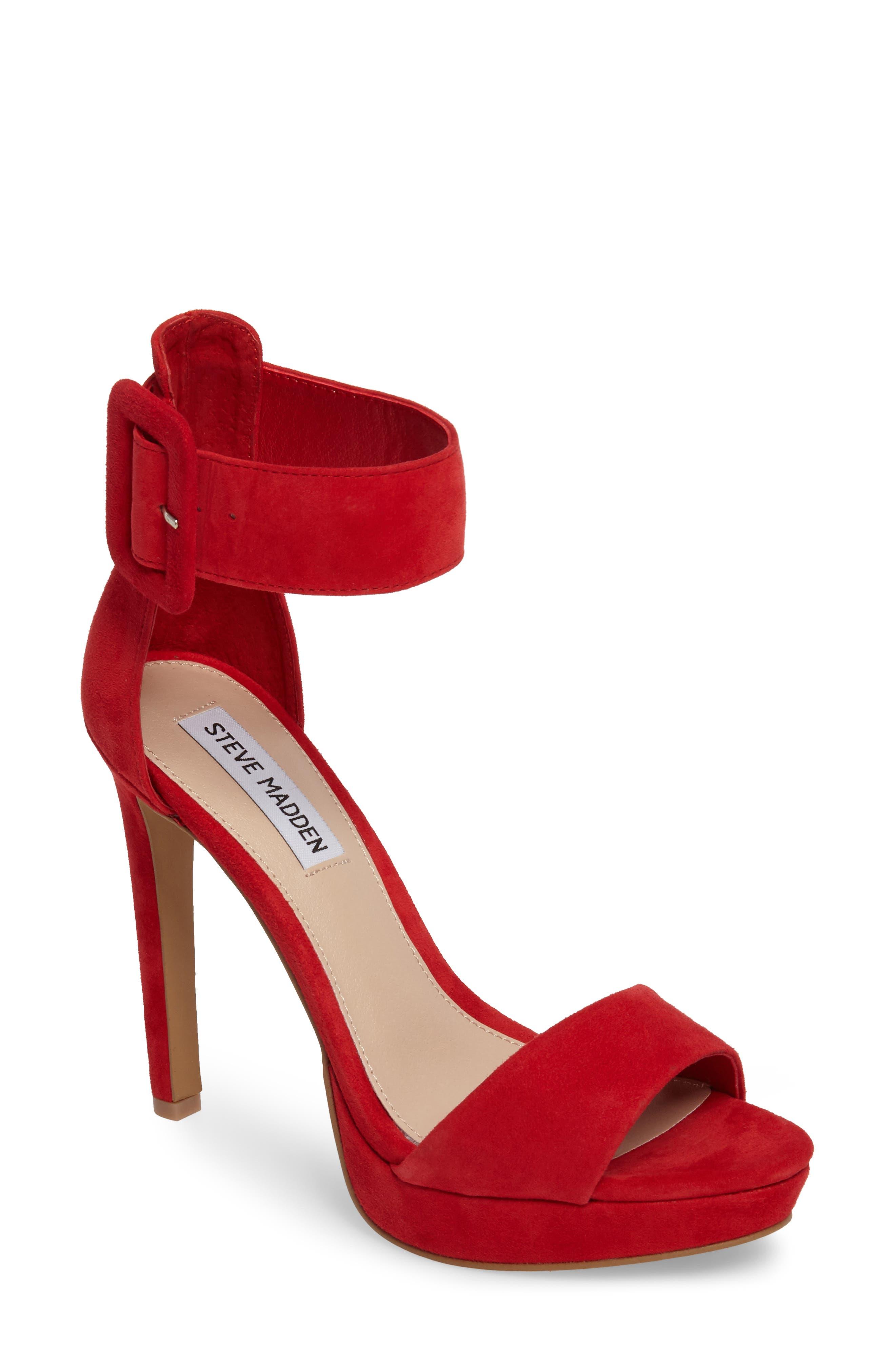 Red Platform High Heels siHSxkXB