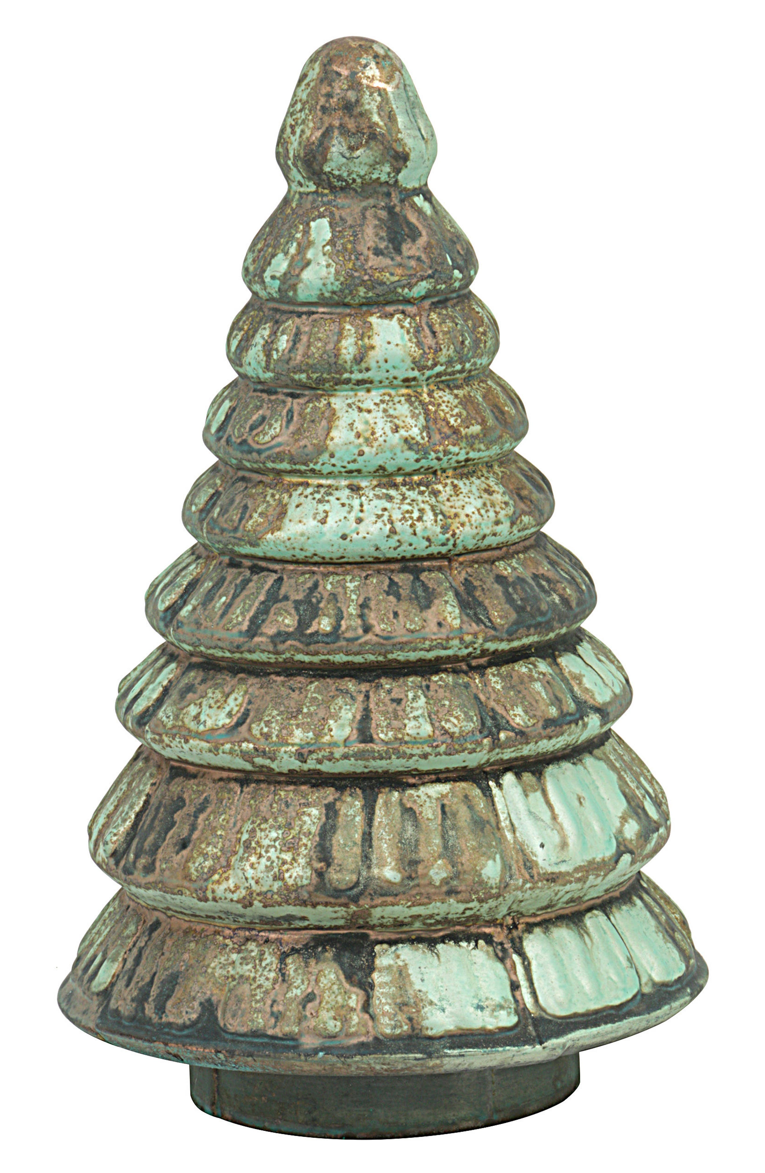 Alternate Image 1 Selected - Creative Co-Op Distressed Mercury Glass Tree