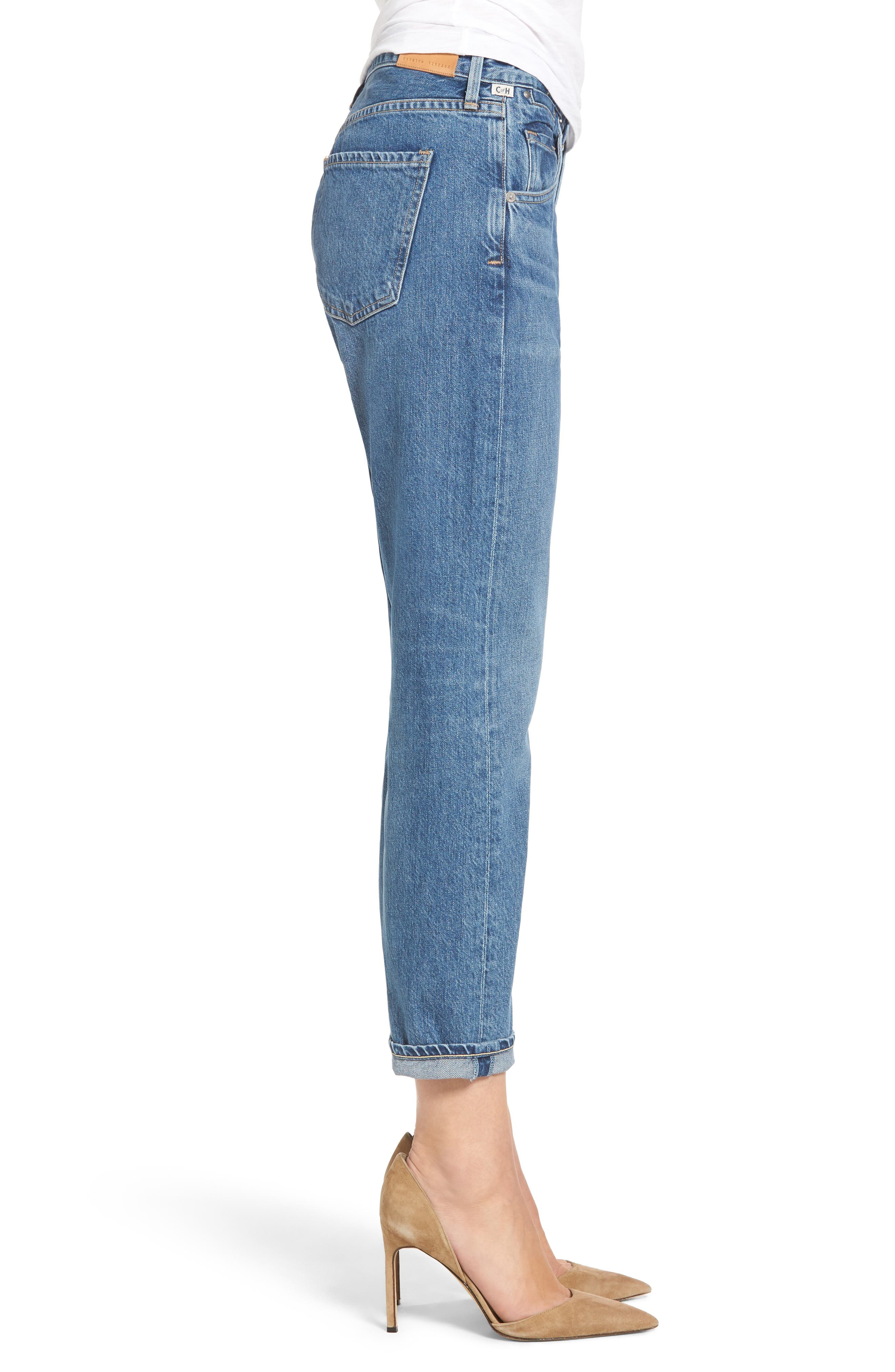 Emerson Slim Boyfriend Jeans,                             Alternate thumbnail 3, color,                             Admire