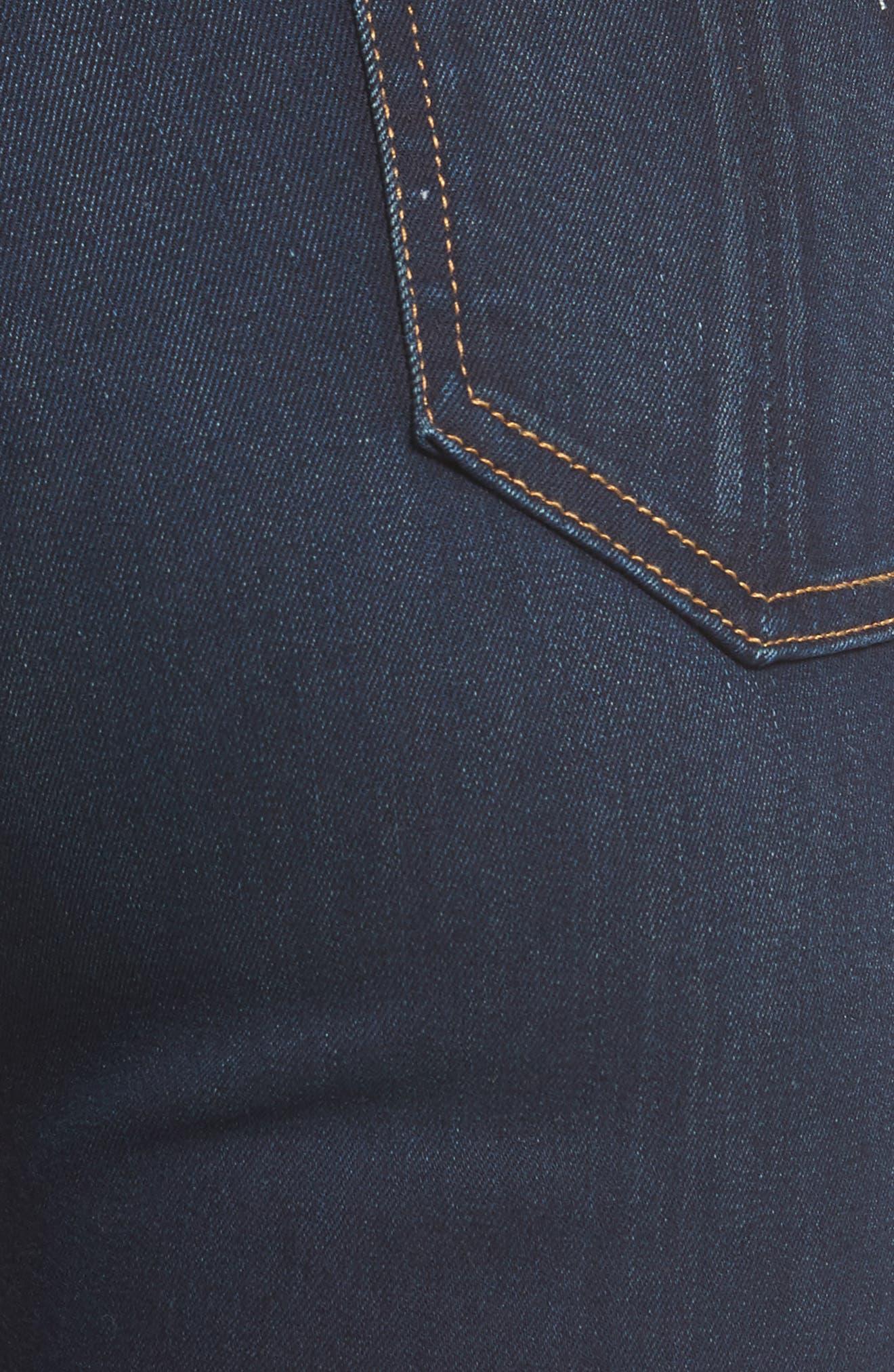 Alternate Image 5  - rag & bone DENIM High Waist Skinny Jeans (Bedford)