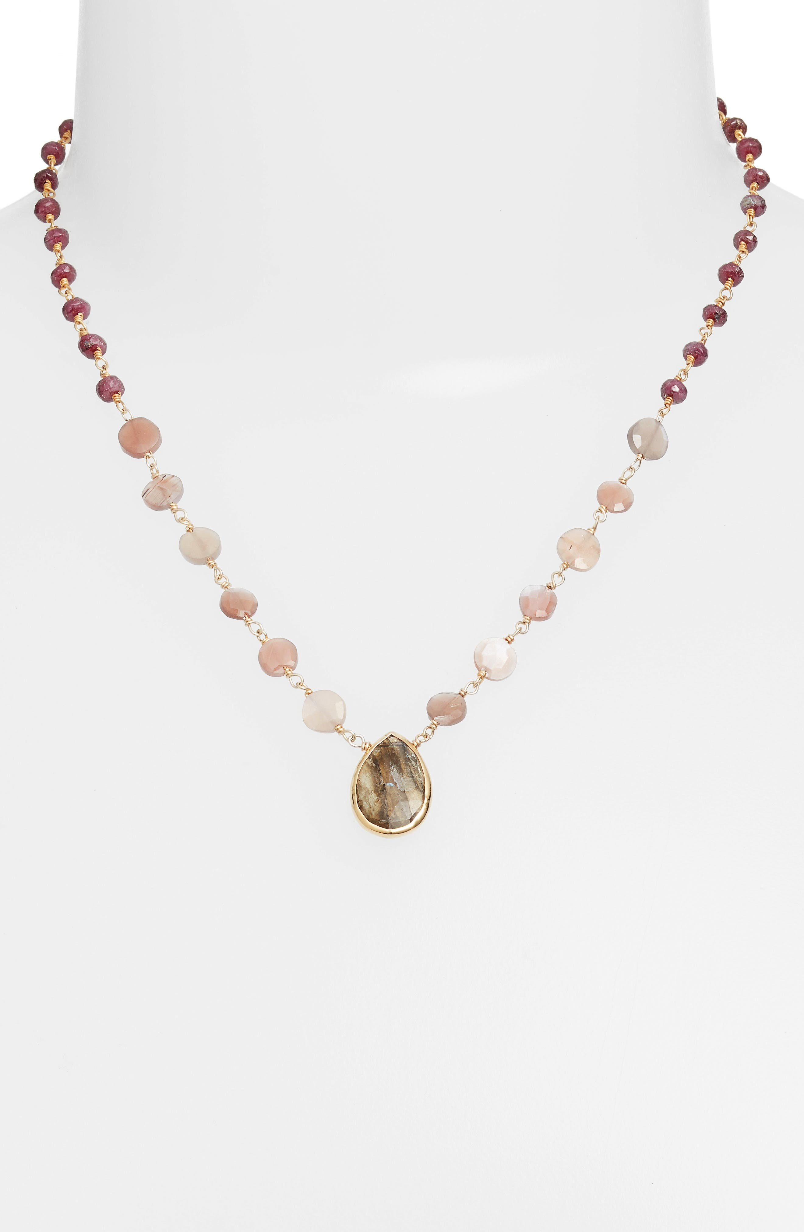 Alternate Image 1 Selected - ela rae Ara Collar Necklace