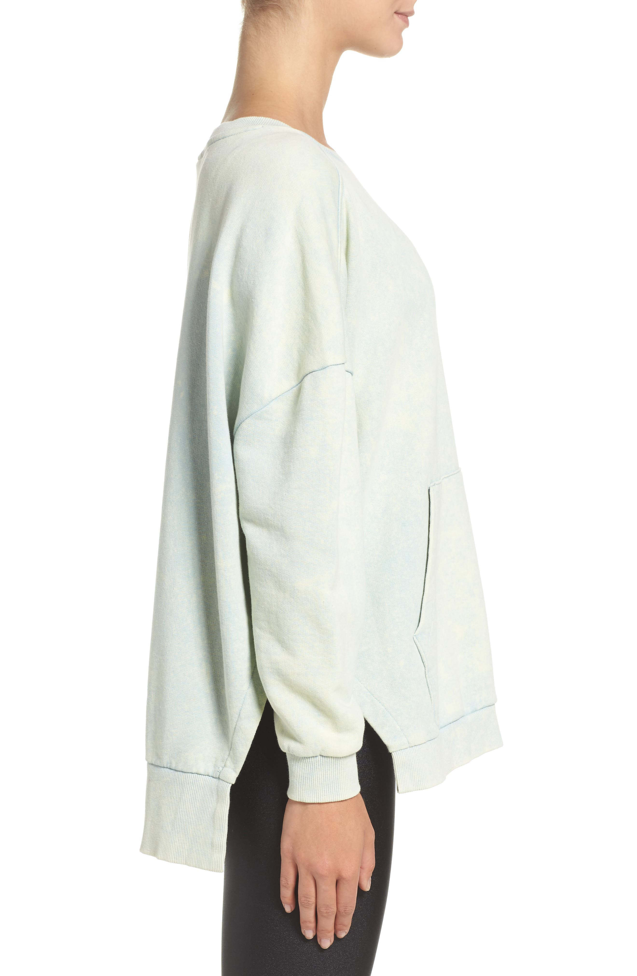 Alternate Image 3  - Reebok Favorite Oversized Sweatshirt