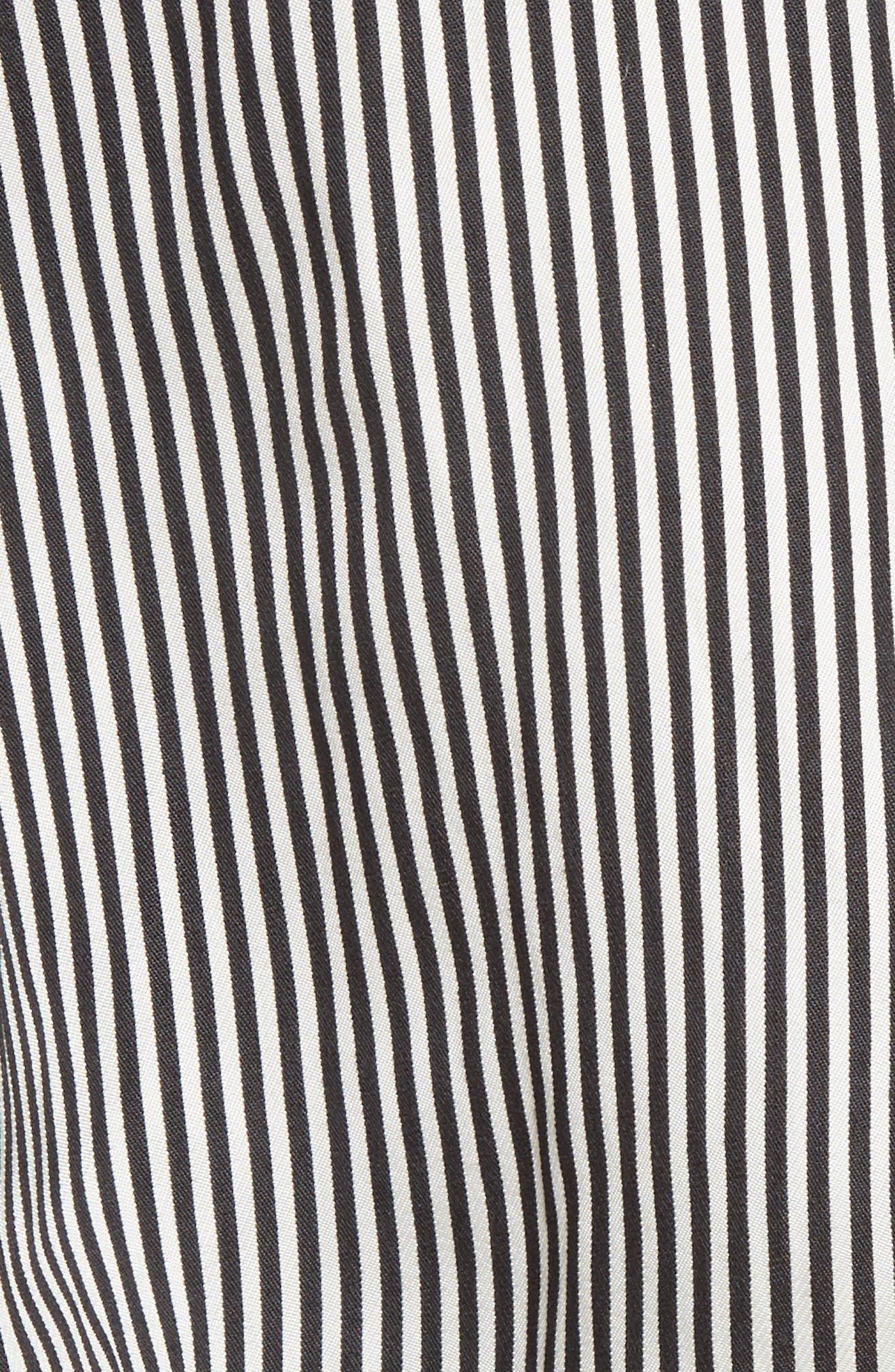 Alternate Image 5  - Altuzarra Asymmetrical Pinstripe Shirt