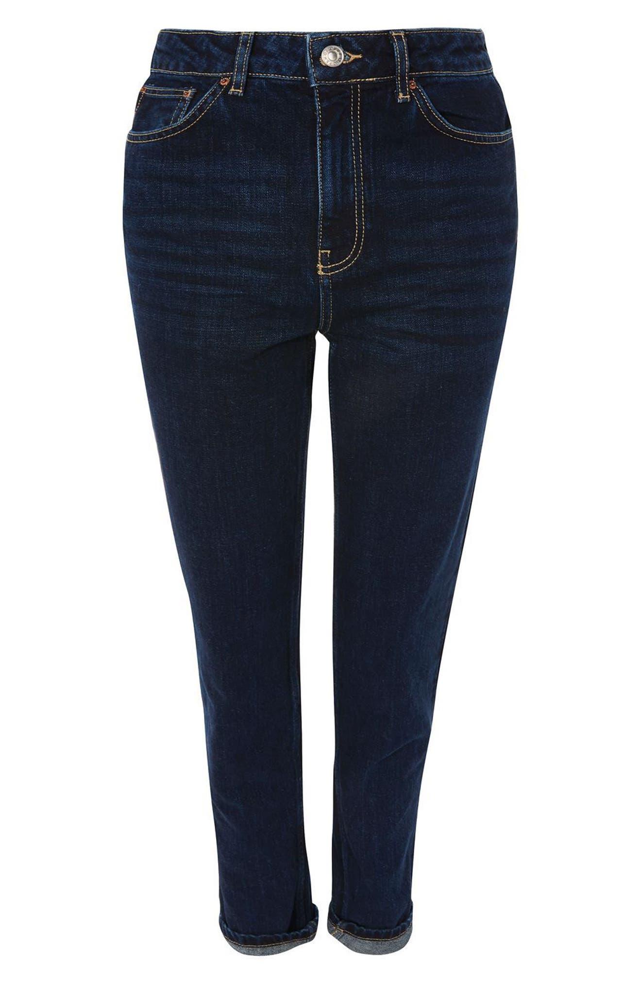 Alternate Image 4  - Topshop Mom Jeans