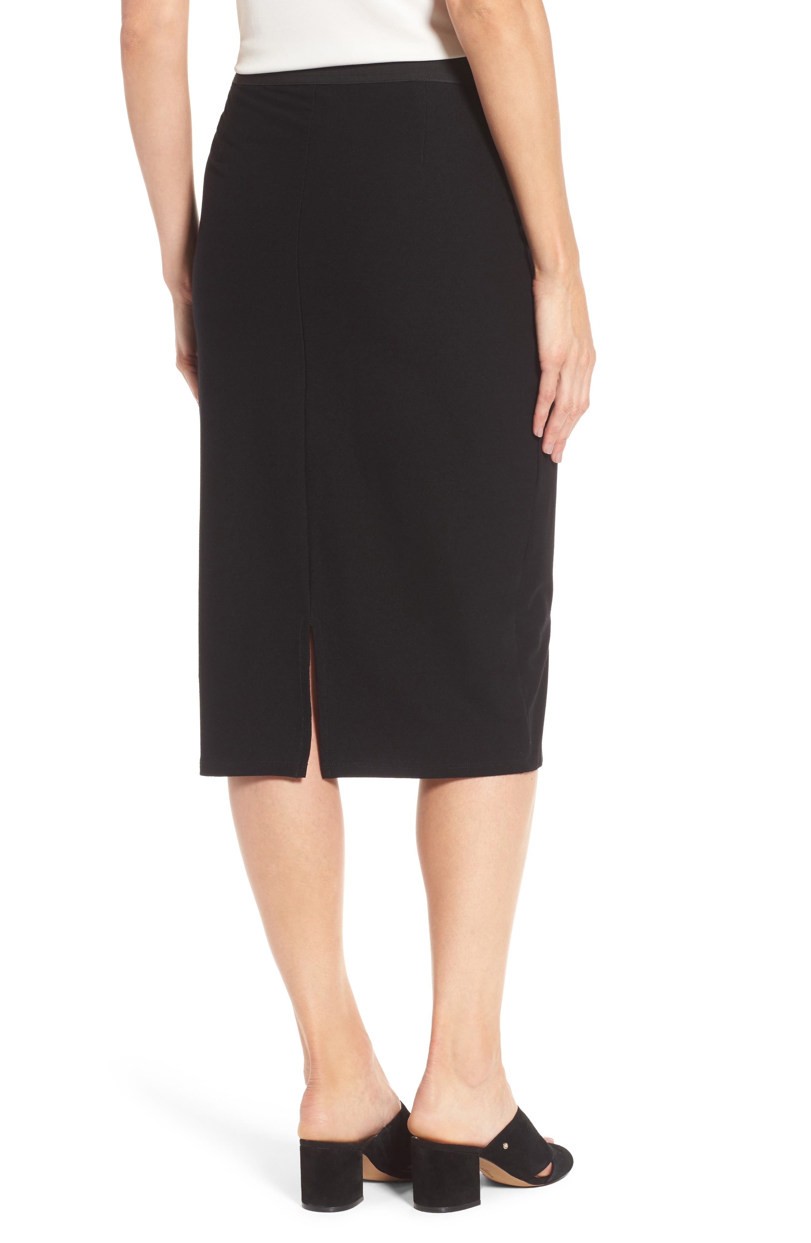 Alternate Image 2  - Eileen Fisher Knit Pencil Skirt (Nordstrom Exclusive)