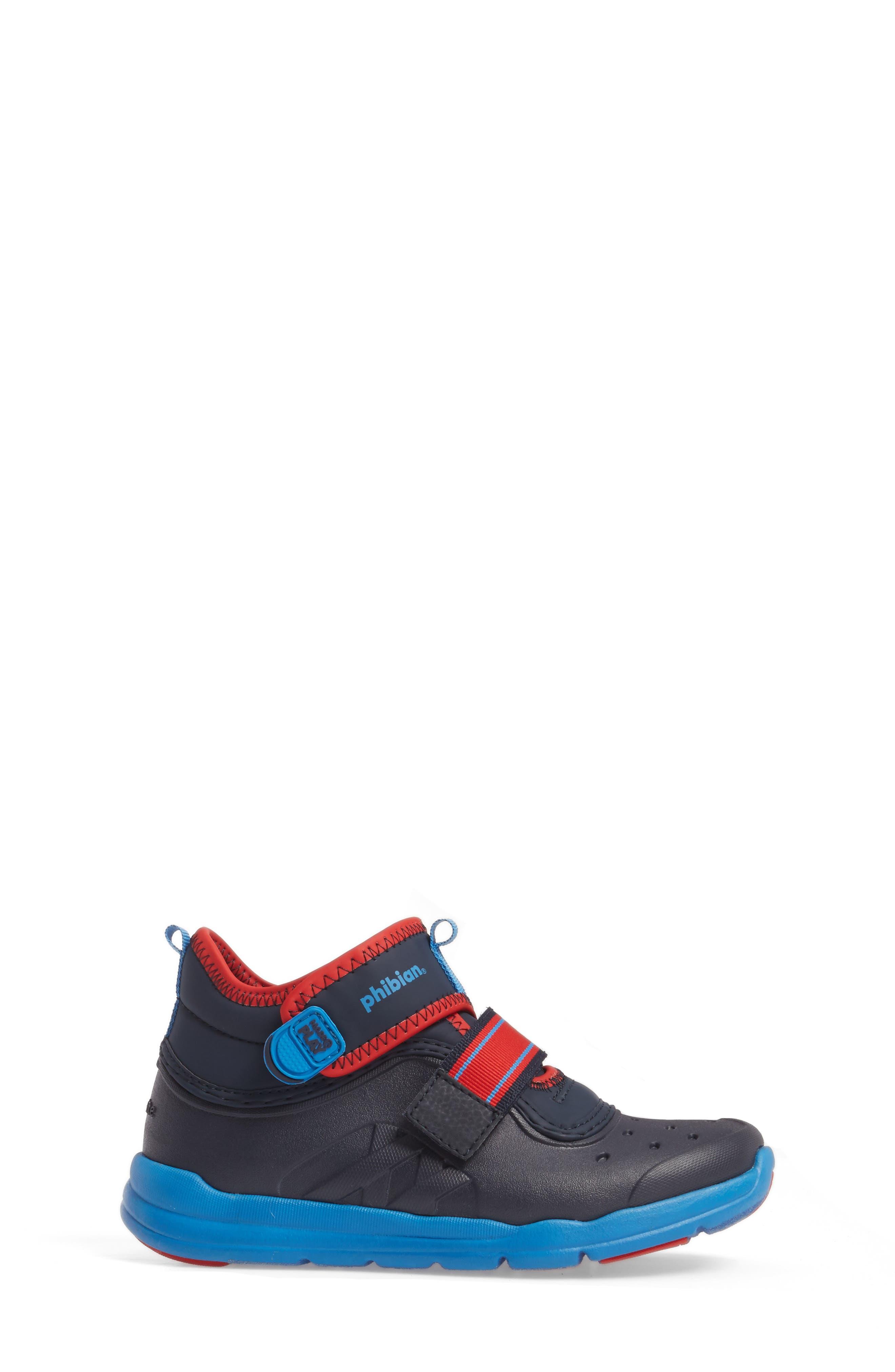 Alternate Image 3  - Stride Rite Made2Play® Phibian Mid Top Sneaker (Baby, Walker & Toddler)