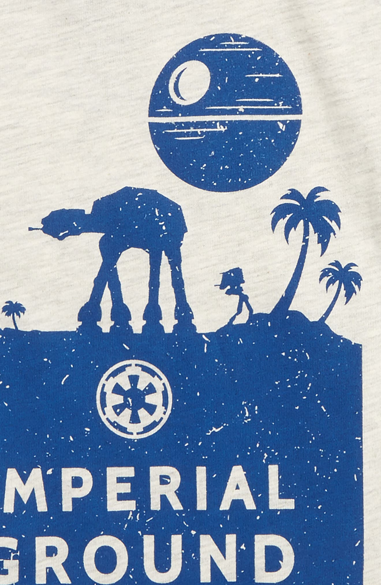Alternate Image 2  - Mighty Fine x Star Wars™ Imperial Ground Forces T-Shirt (Toddler Boys & Little Boys)