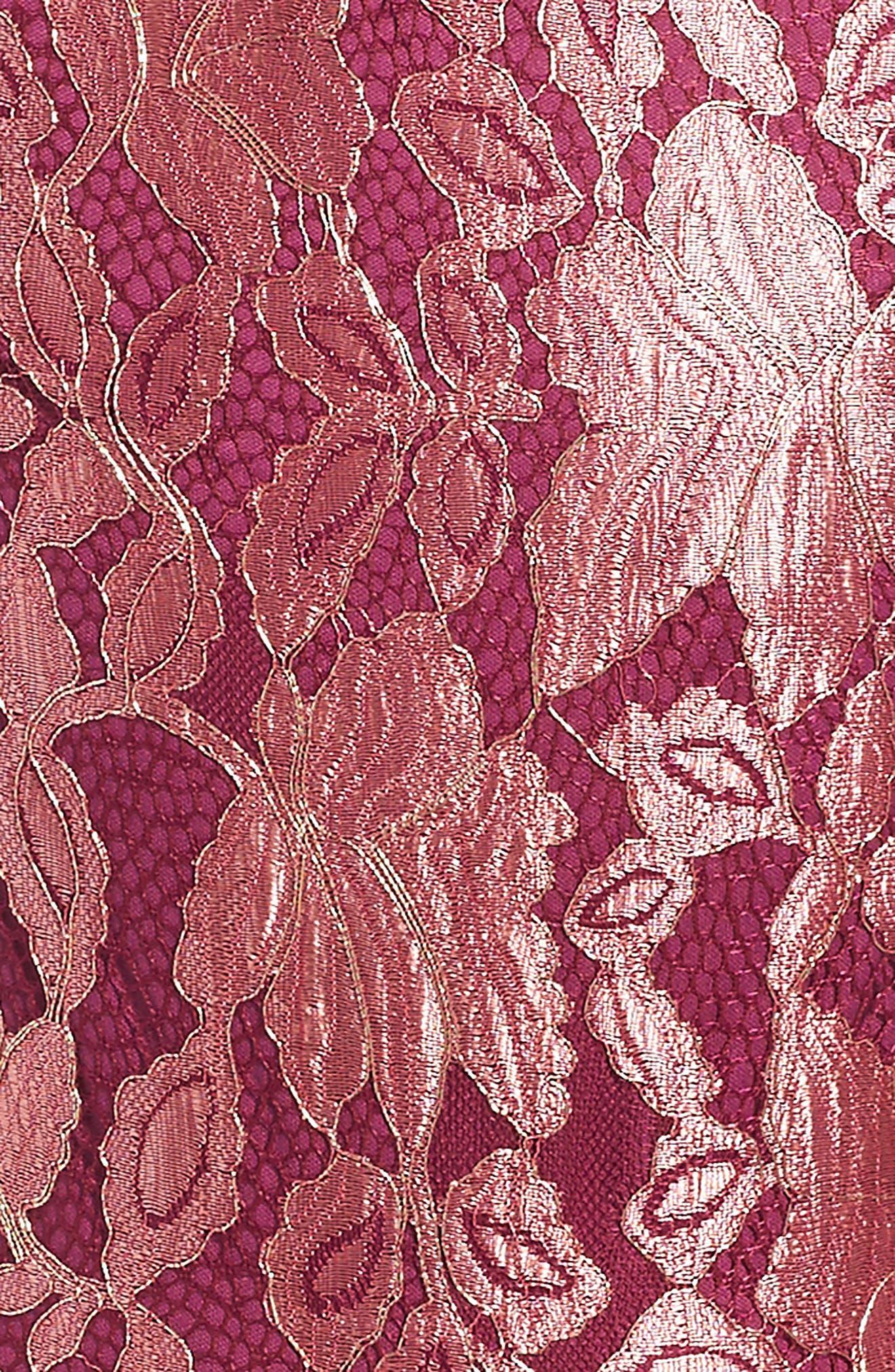 Alternate Image 3  - Penelope Tree Ariana Lace Dress (Big Girls)