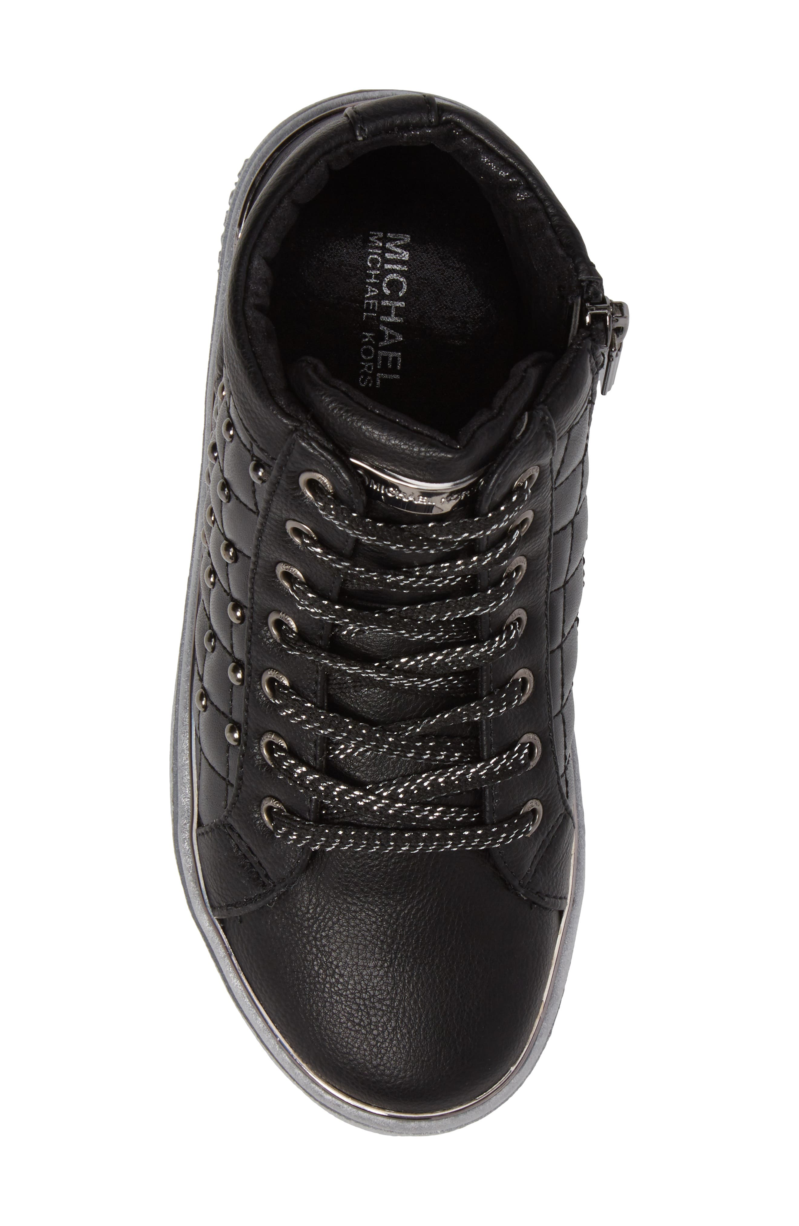 Ivy Rome Sneaker,                             Alternate thumbnail 5, color,                             Black