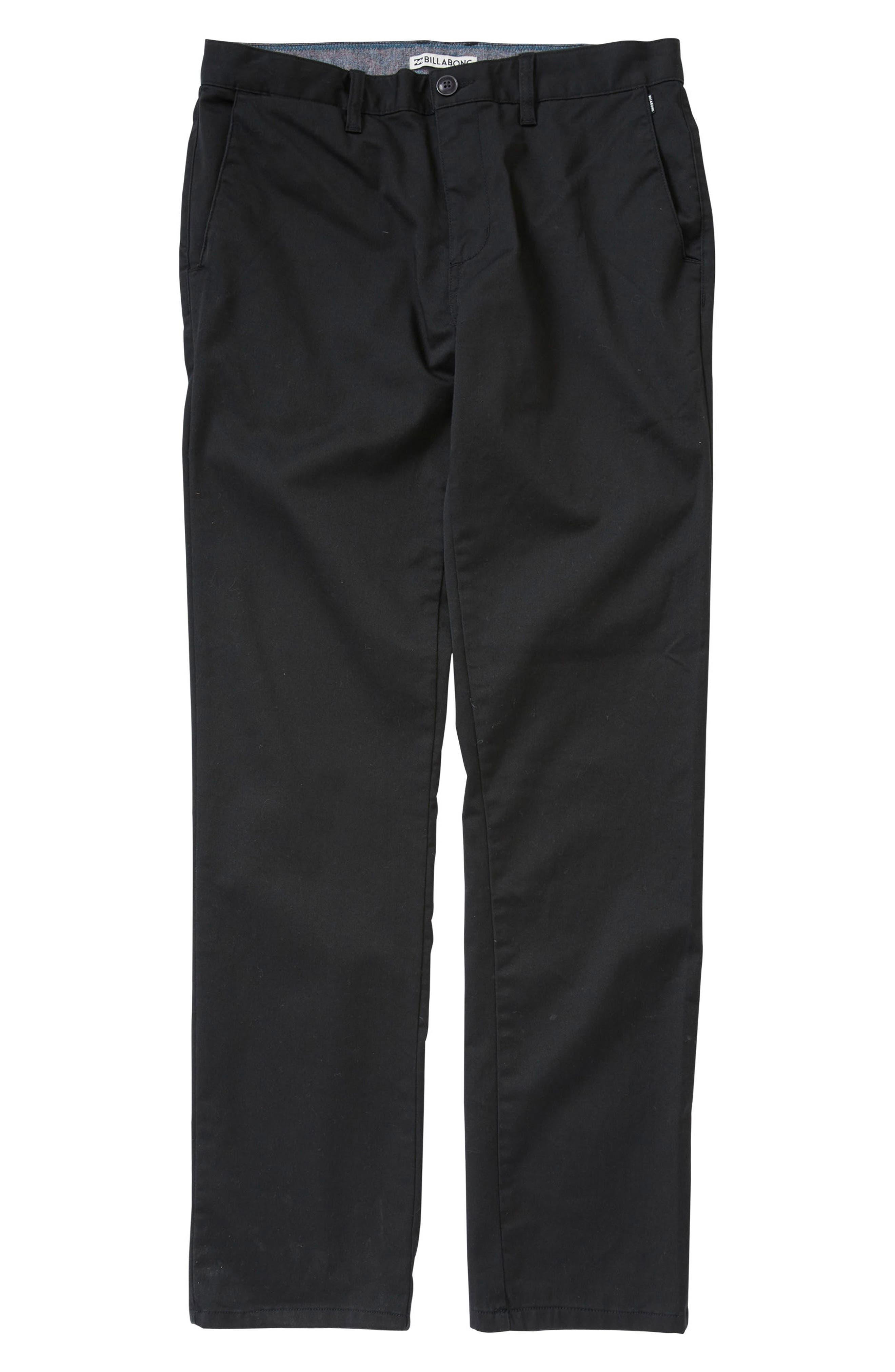 Alternate Image 1 Selected - Billabong Carter Chinos (Toddler Boys & Little Boys)