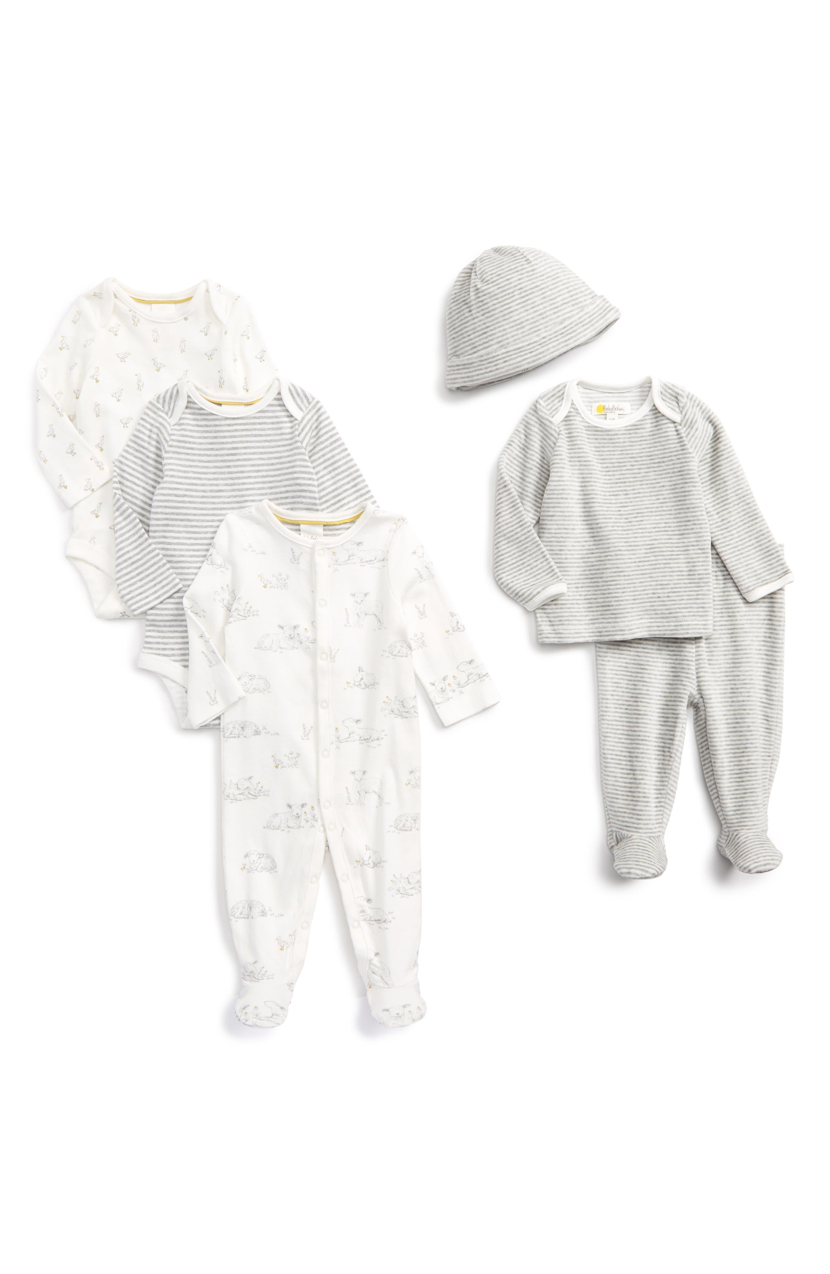 Mini Boden New Baby Gift Set (Baby Girls)