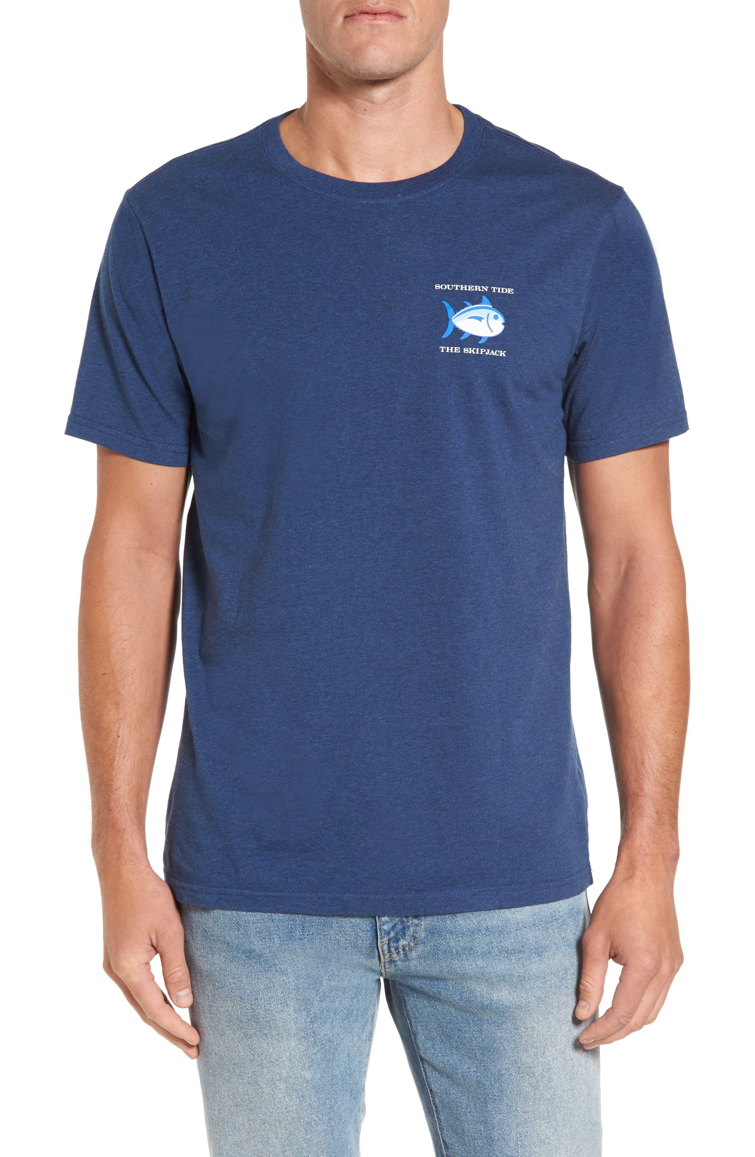 Original Graphic T-Shirt,                         Main,                         color, Navy