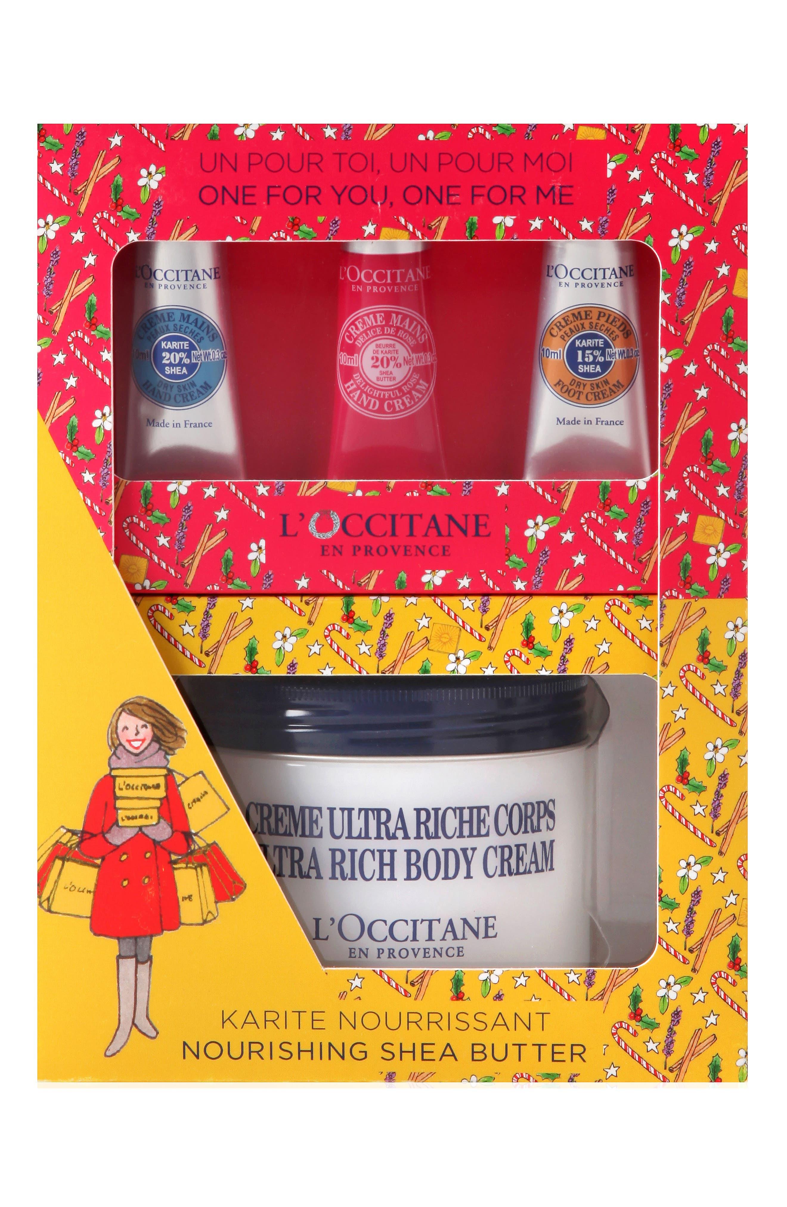 Alternate Image 1 Selected - L'Occitane Nourishing Shea Butter Set ($59 Value)
