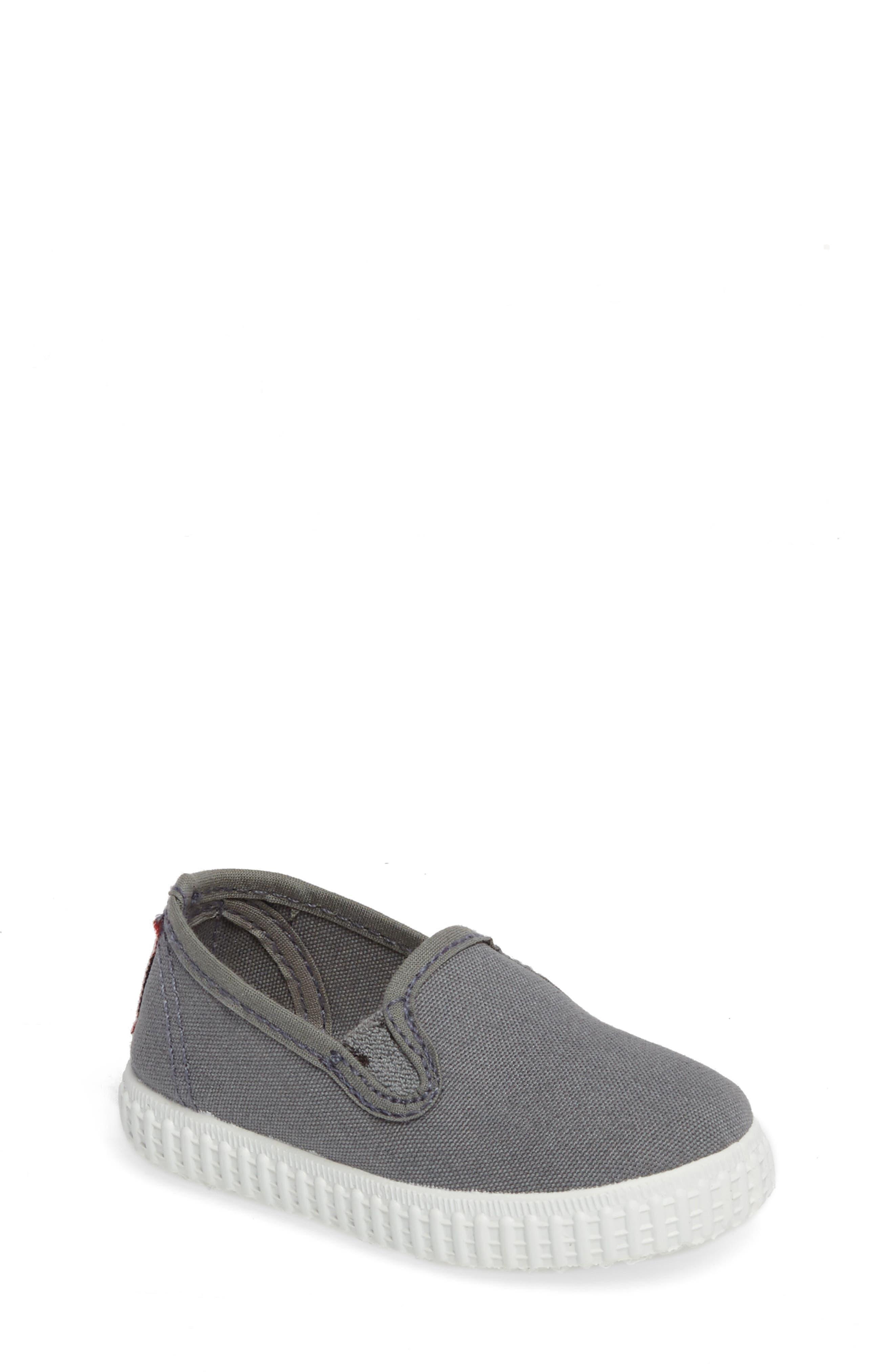 Slip-On Sneaker,                             Main thumbnail 1, color,                             Light Grey