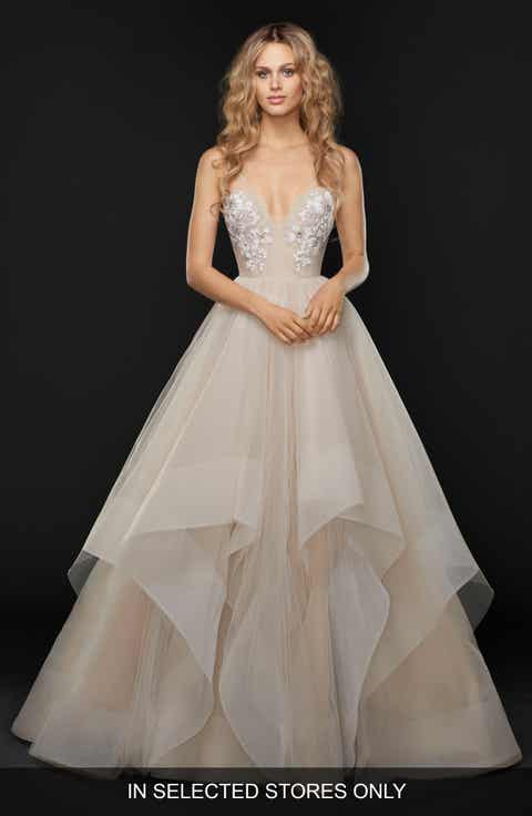 Womens wedding dresses bridal gowns nordstrom hayley paige keagan embellished tulle ballgown junglespirit Image collections